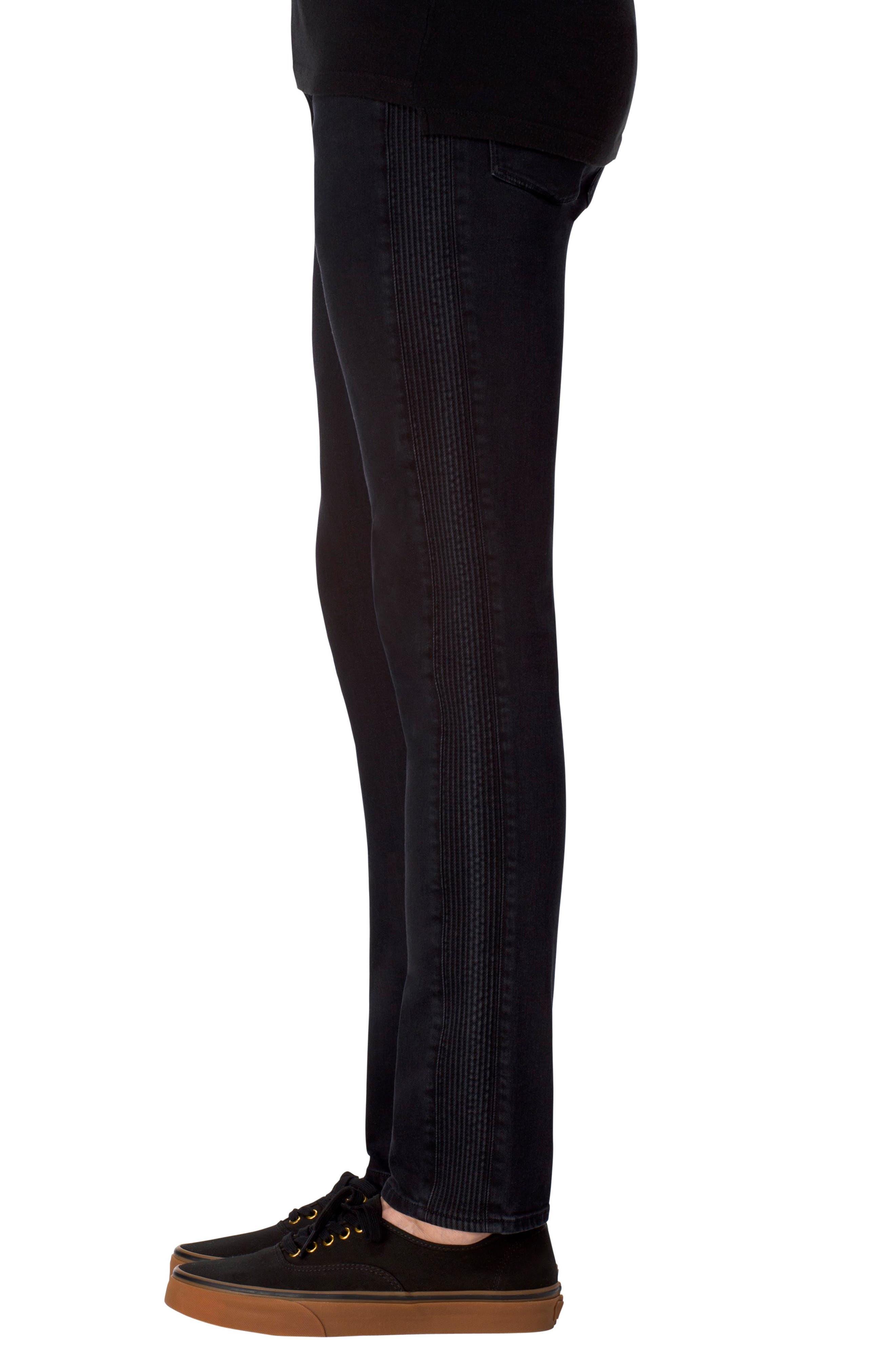 Alternate Image 3  - J Brand Parallax Moto Skinny Fit Jeans (Hype)