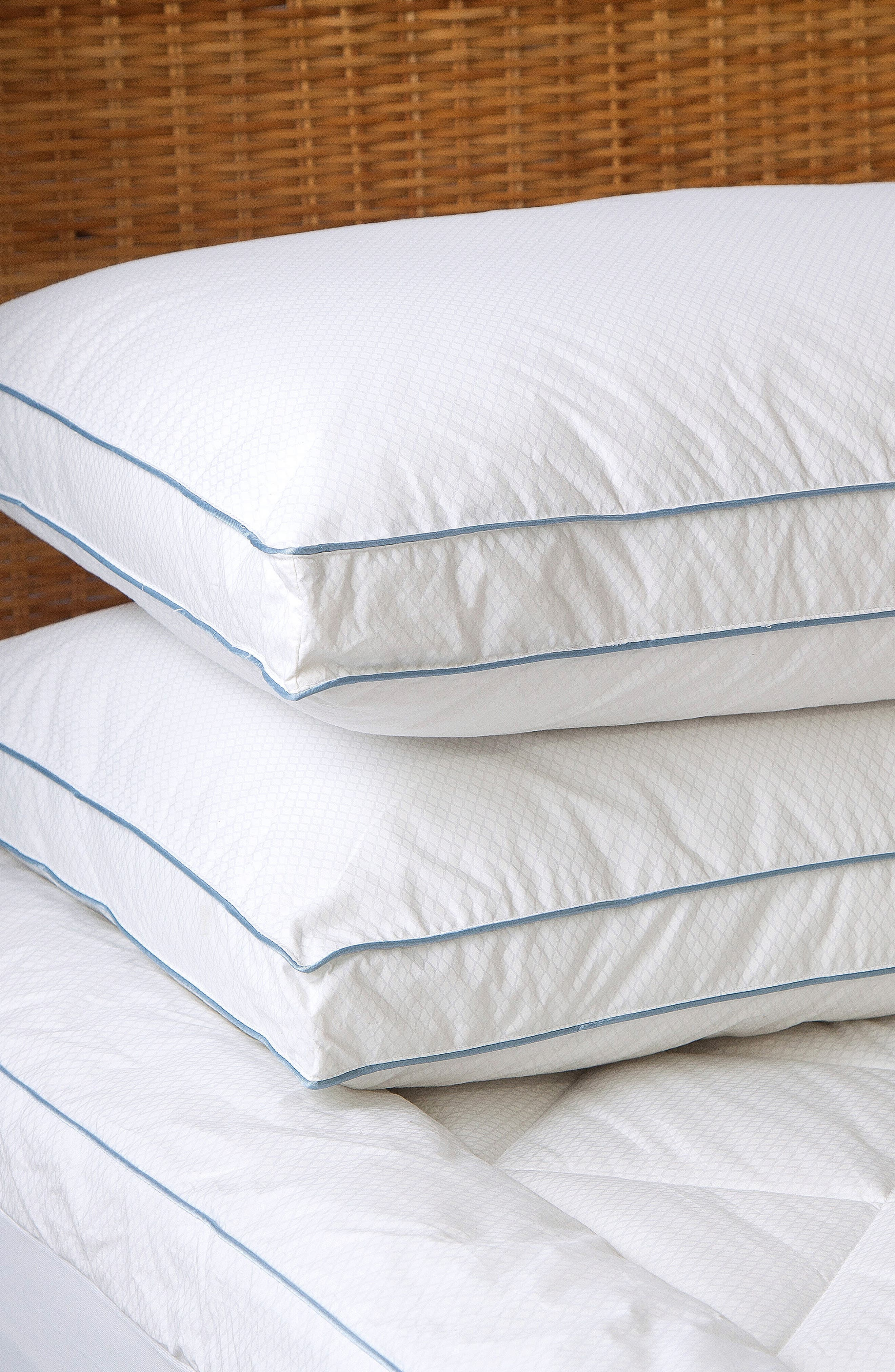 Gusseted Pillow,                             Alternate thumbnail 2, color,                             White