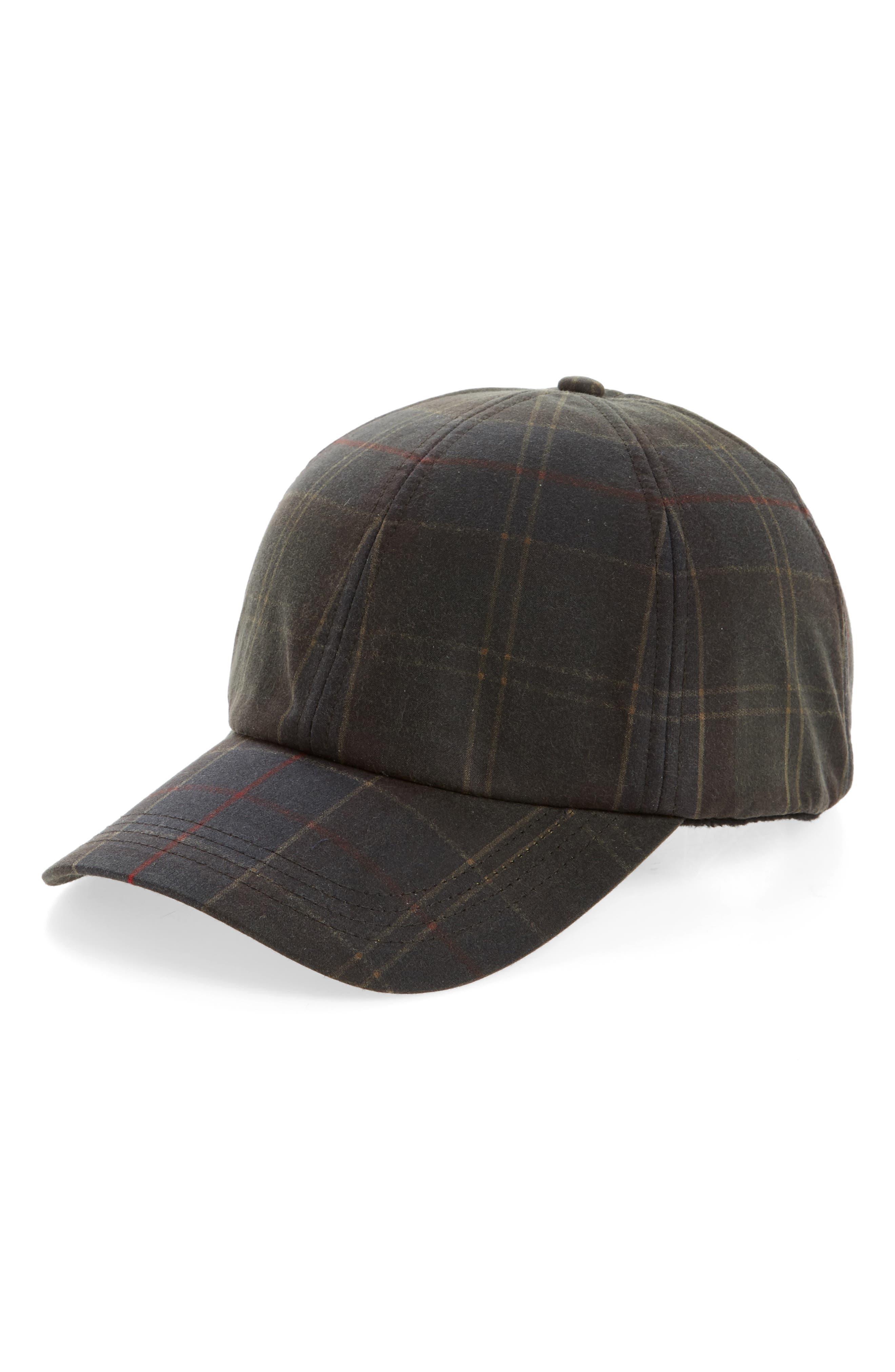 Tartan Baseball Cap,                         Main,                         color, Classic
