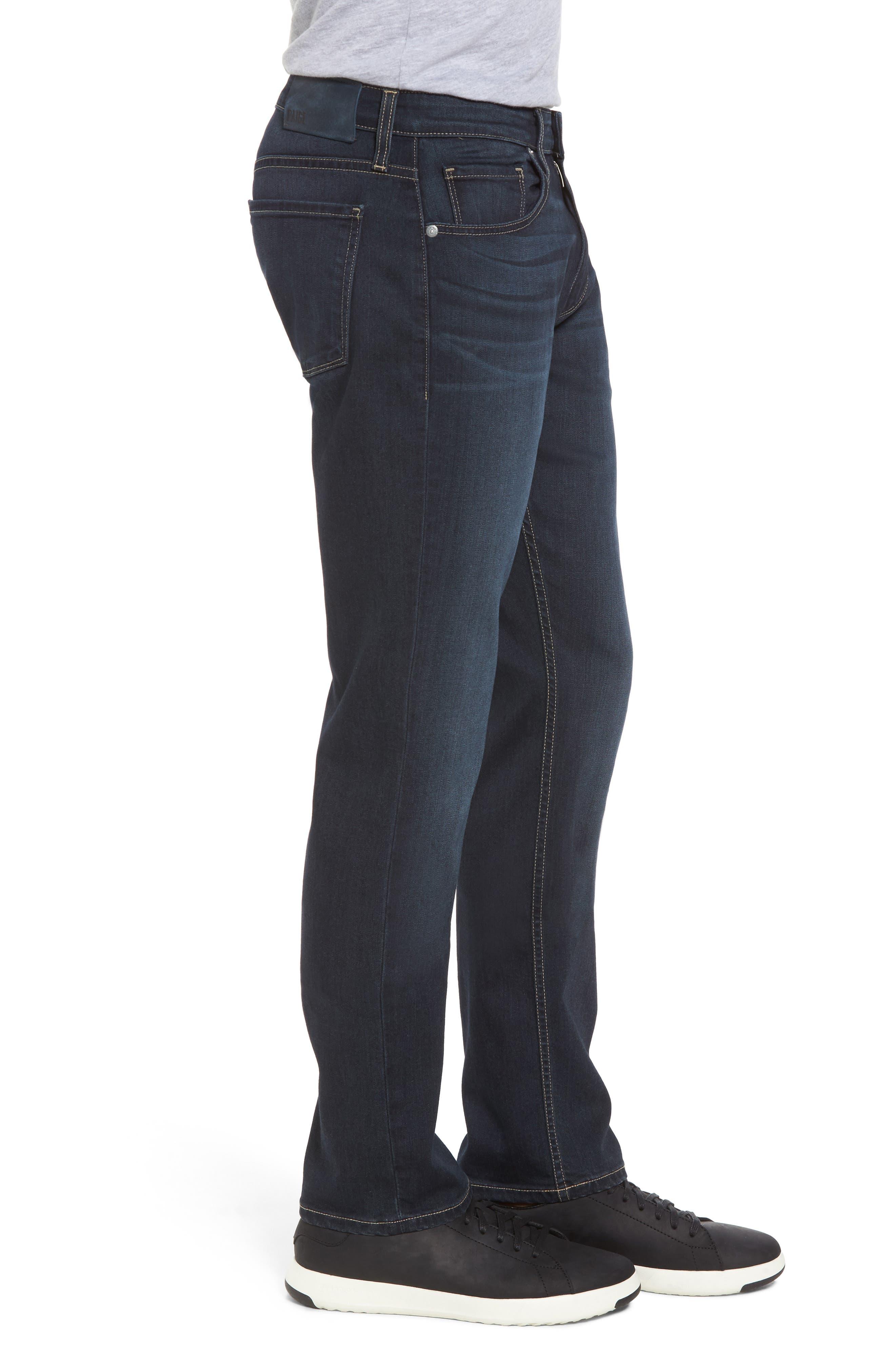 Alternate Image 3  - PAIGE Transcend - Federal Slim Straight Leg Jeans (Wilkins)