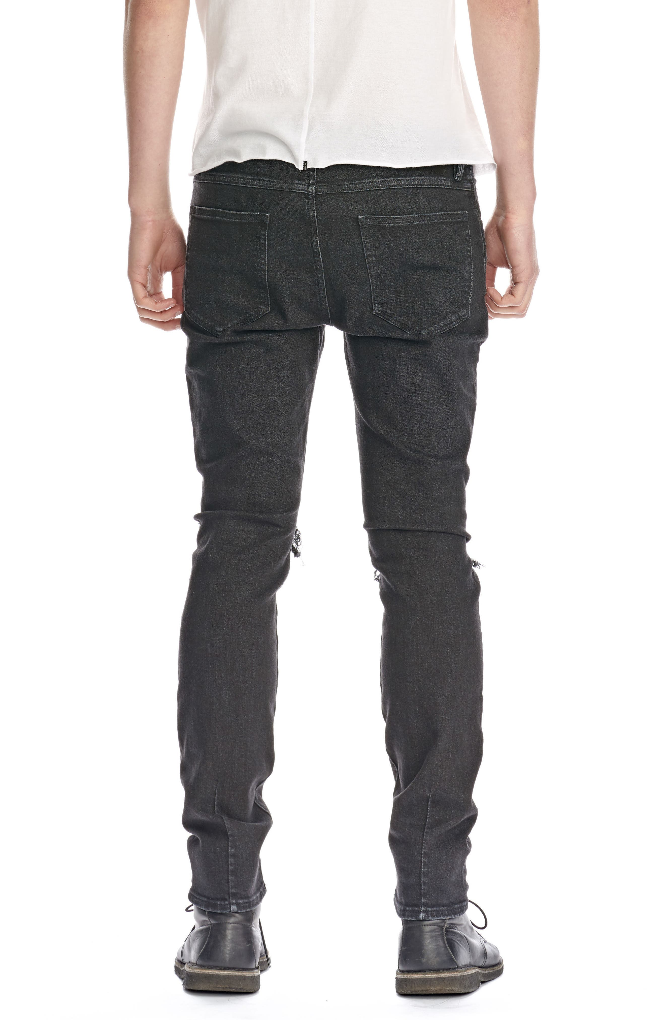 Alternate Image 2  - NEUW Iggy Skinny Fit Jeans (Black Horizon)