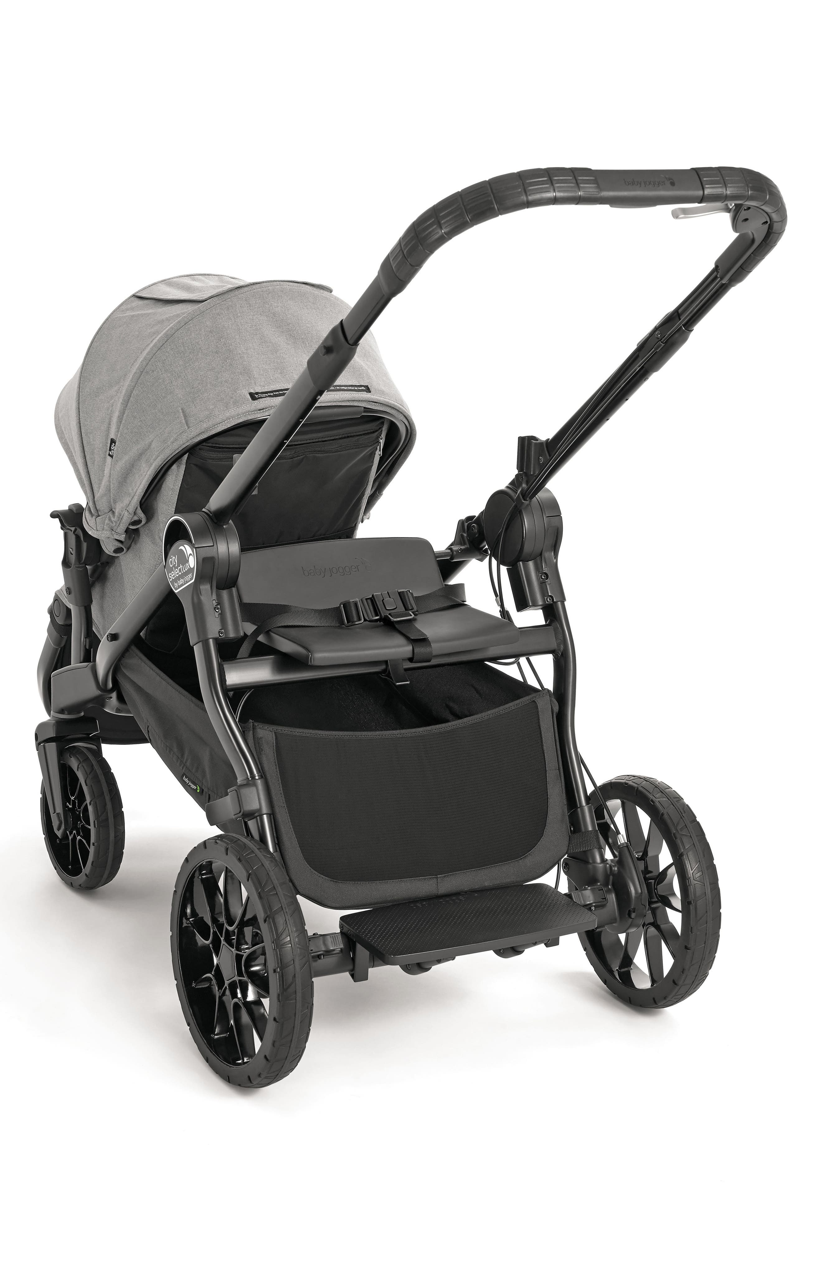 Lux Bench Seat for City Select<sup>™</sup> Stroller,                             Alternate thumbnail 2, color,                             Black
