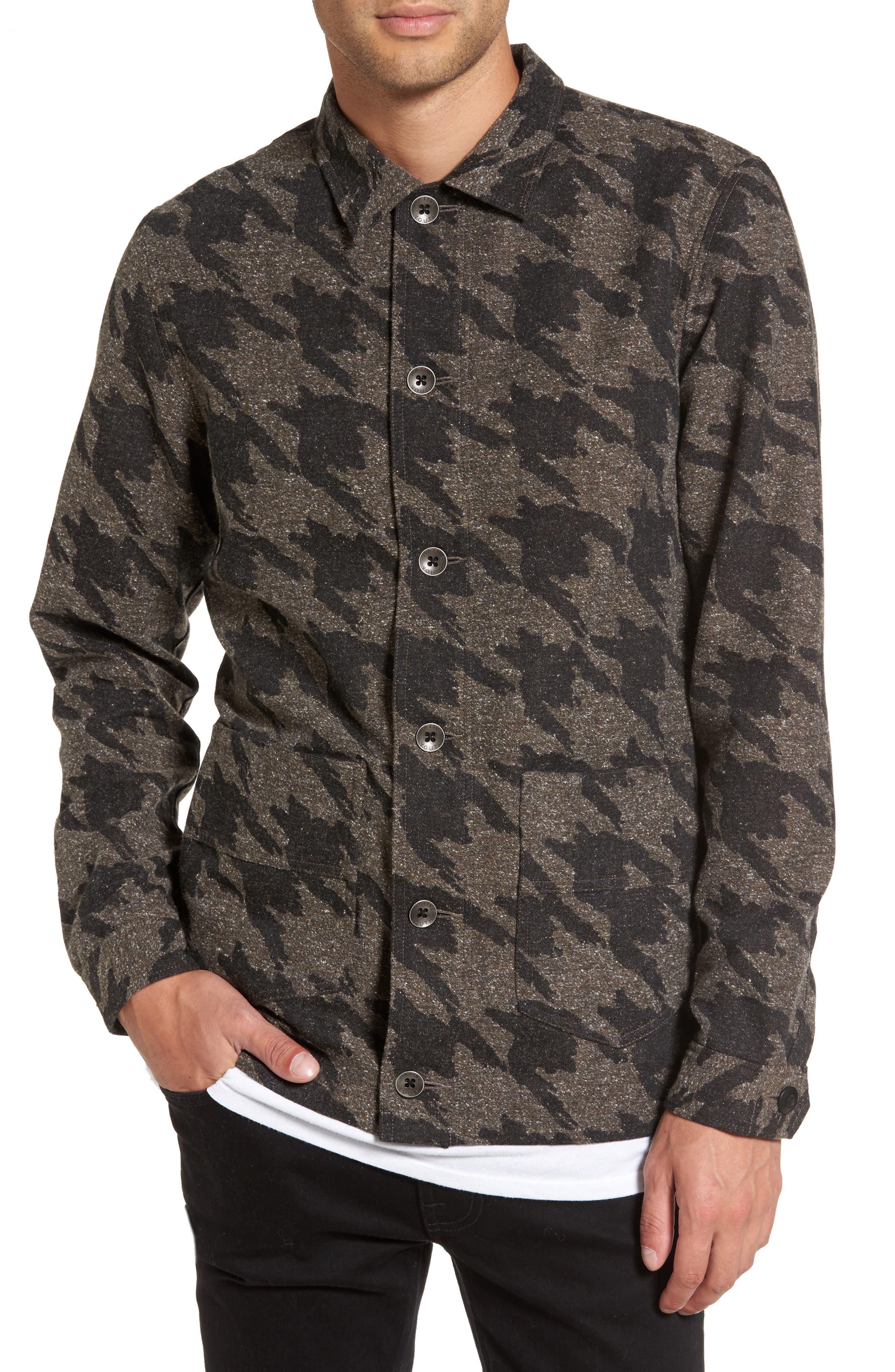 Alternate Image 1 Selected - Native Youth Lynx Shirt Jacket