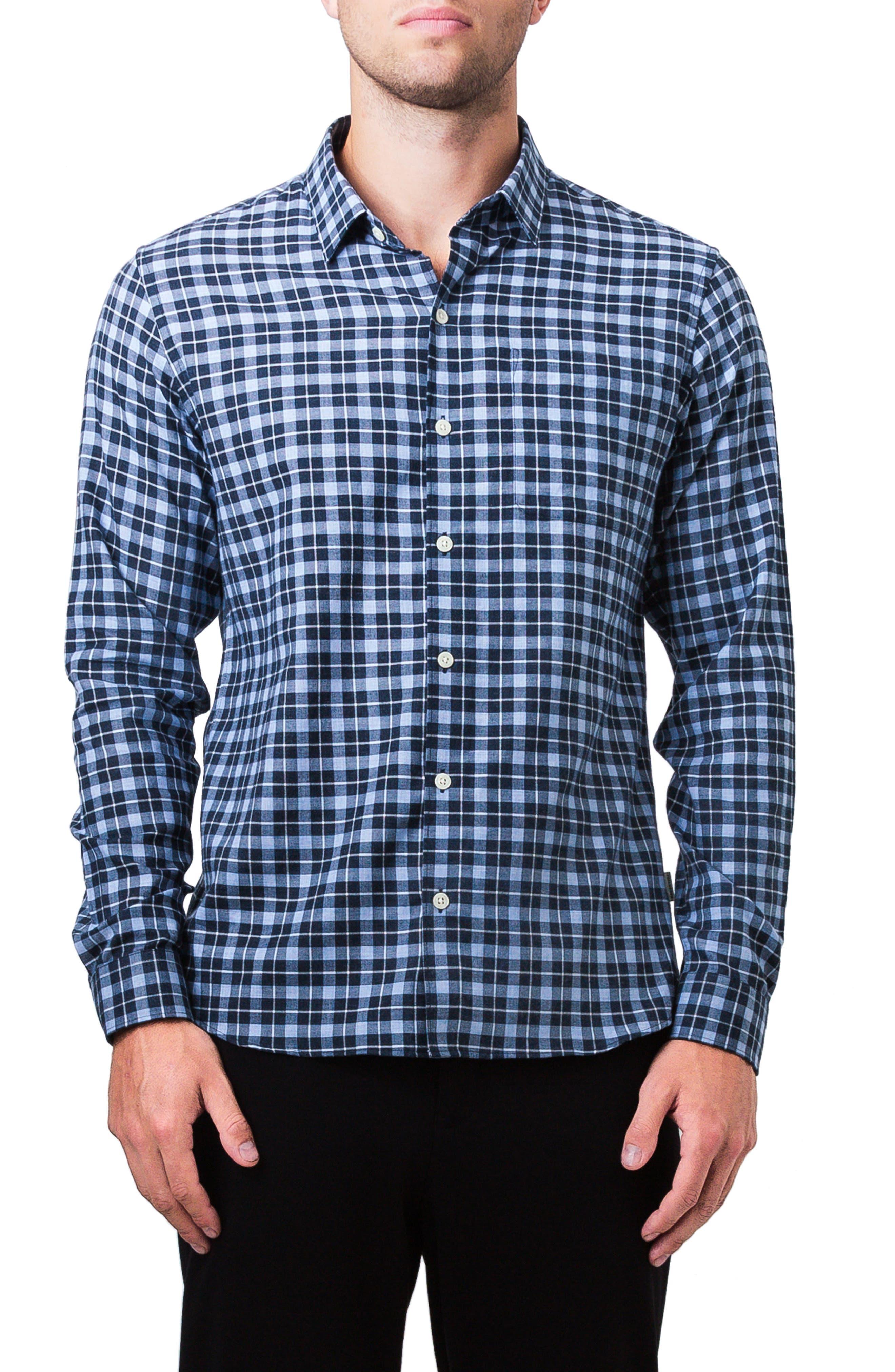 Sugar Storm Woven Shirt,                             Main thumbnail 1, color,                             Powder Blue