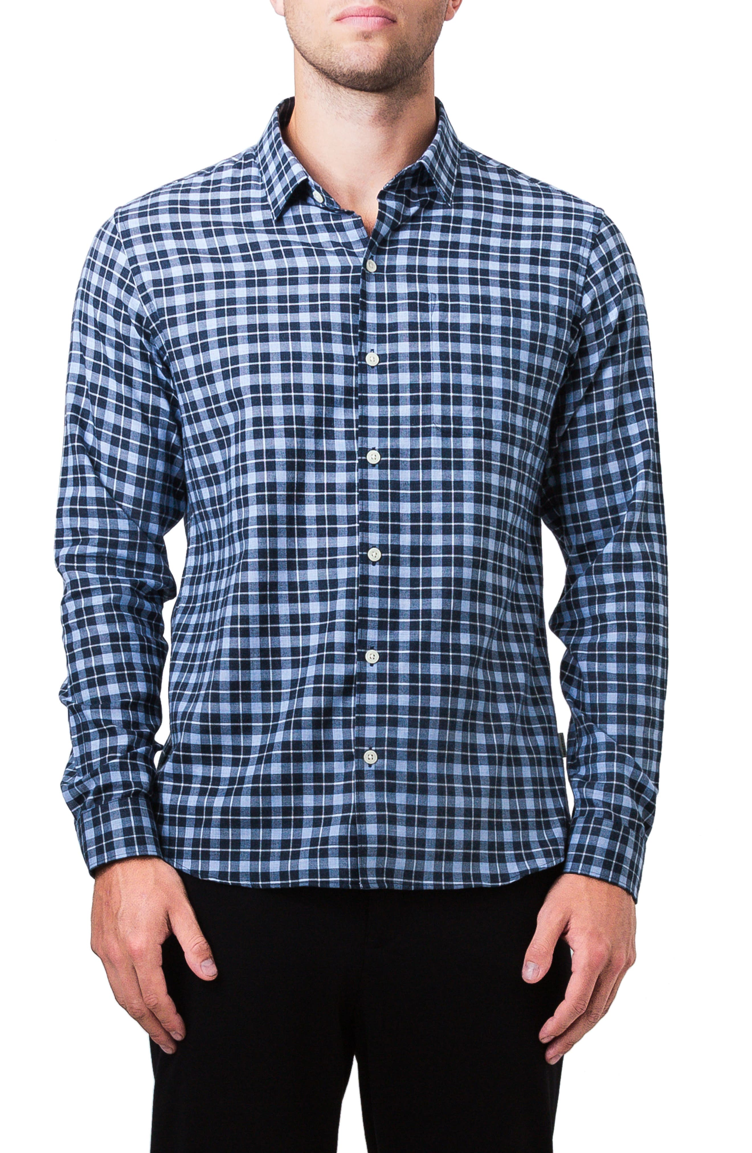 Sugar Storm Woven Shirt,                         Main,                         color, Powder Blue
