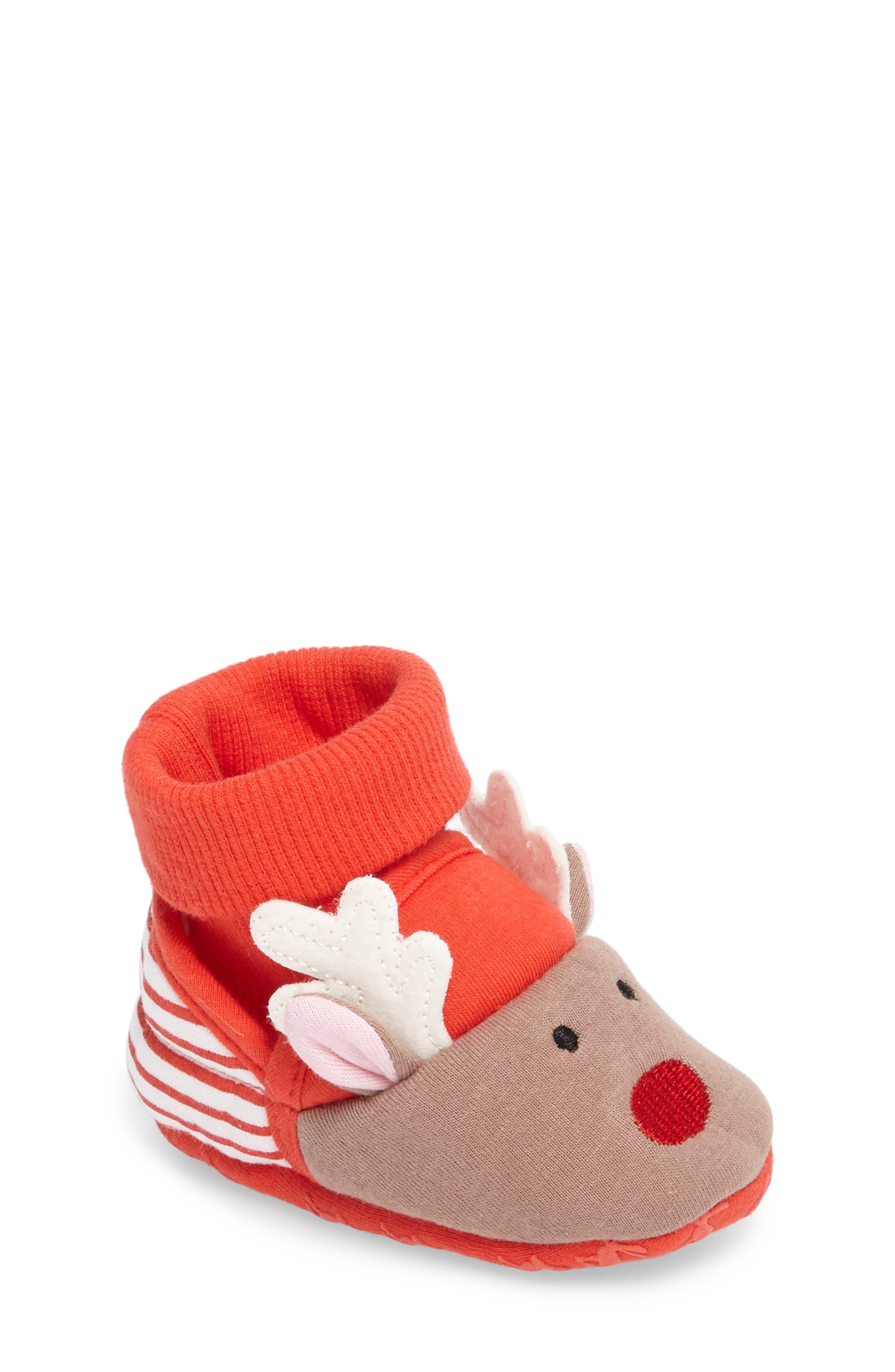 Alternate Image 1 Selected - Joules Critter Face Slipper (Toddler & Little Kid)