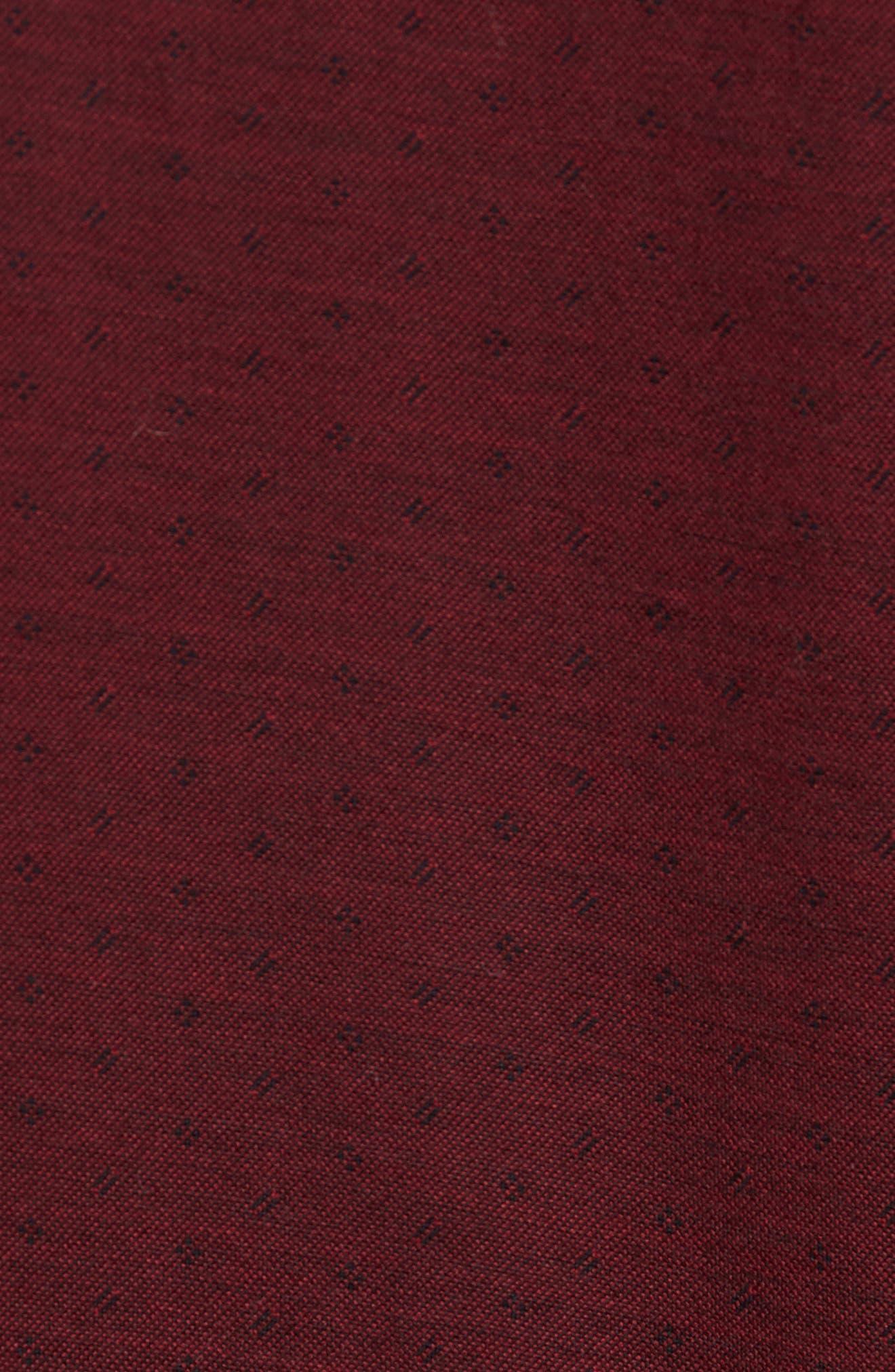 Alternate Image 5  - David Donahue Jacquard Knit Sport Shirt