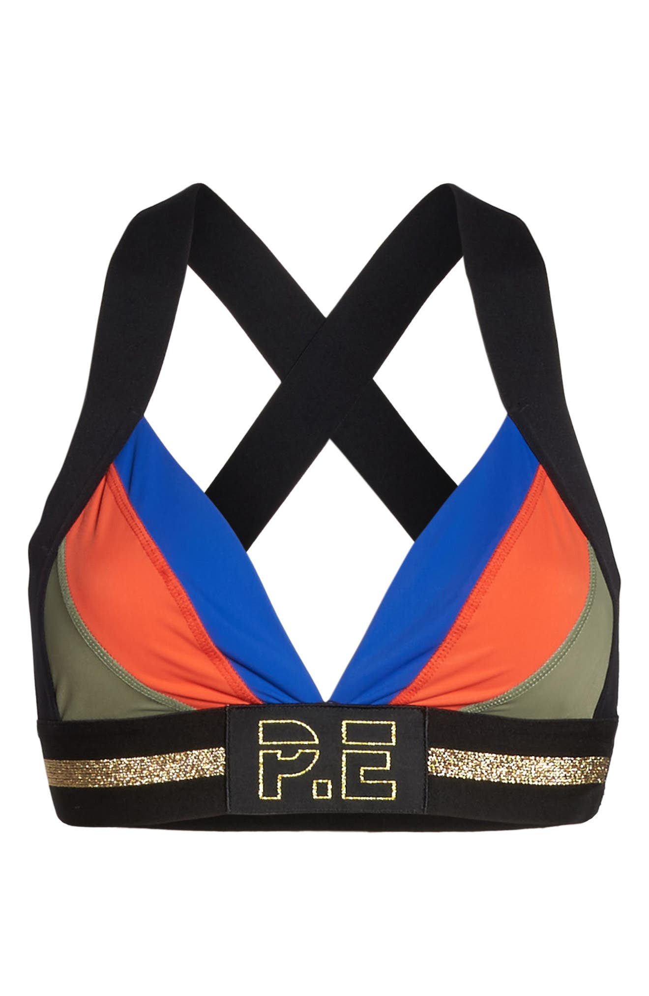 The Centre Sports Bra,                             Alternate thumbnail 6, color,                             Multi