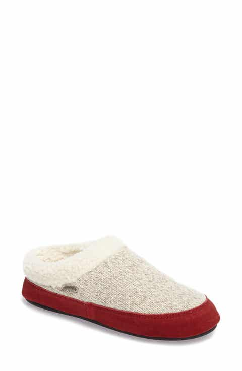 Acorn Ragg Mule Slipper Women
