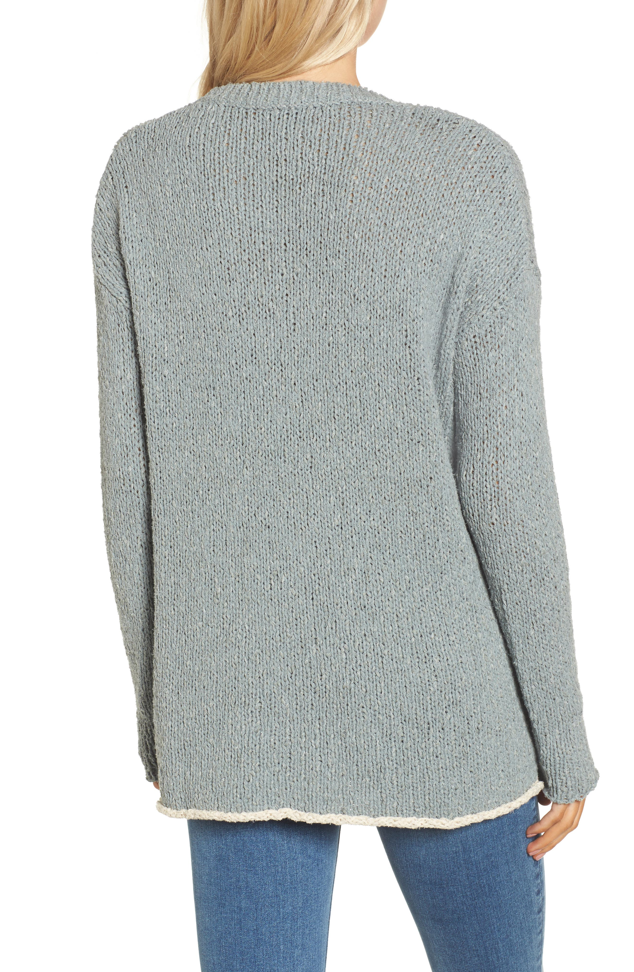 Alternate Image 2  - James Perse Oversize Sweater