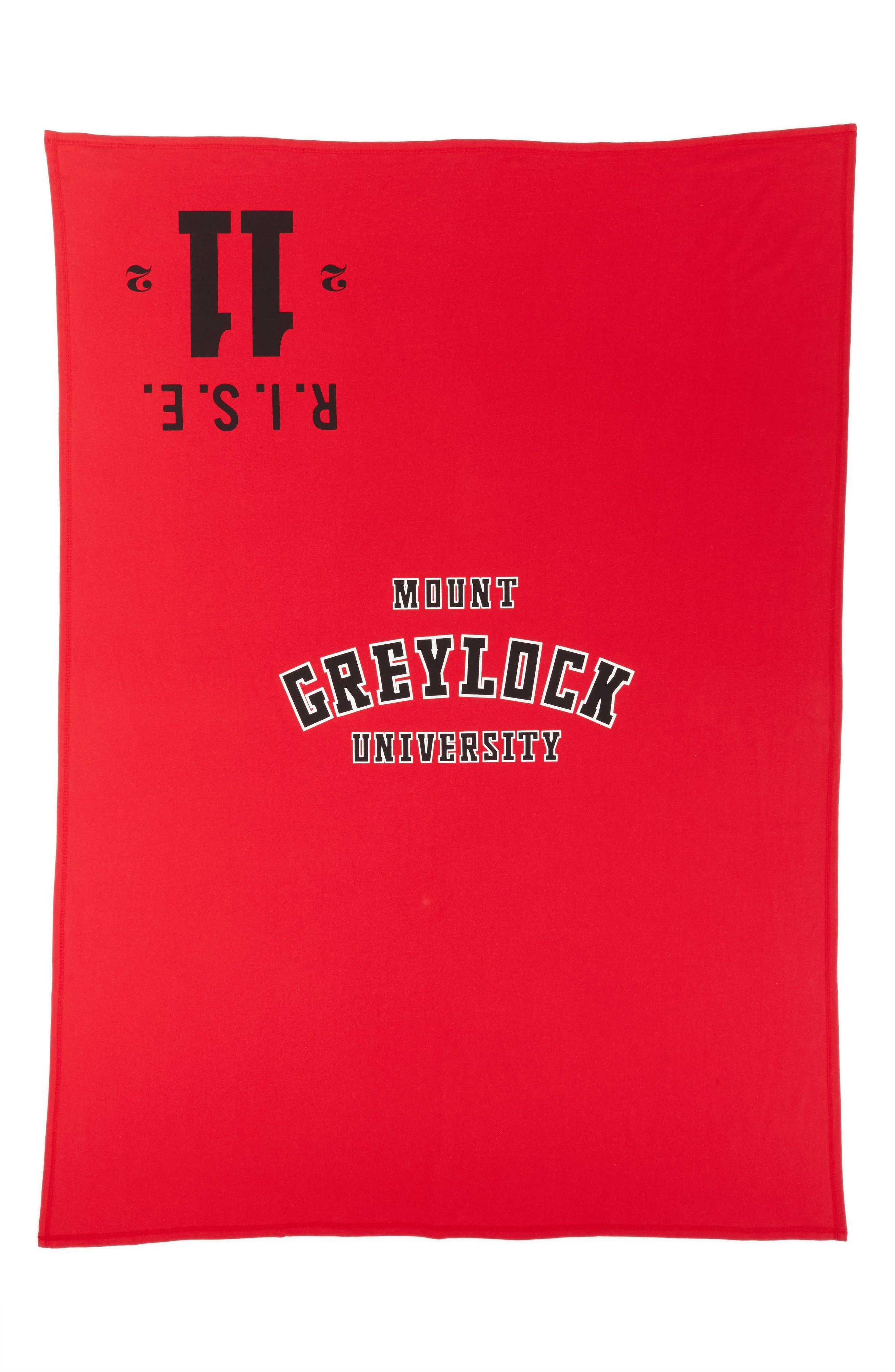 Calvin Klein Mount Greylock Throw,                         Main,                         color, Red