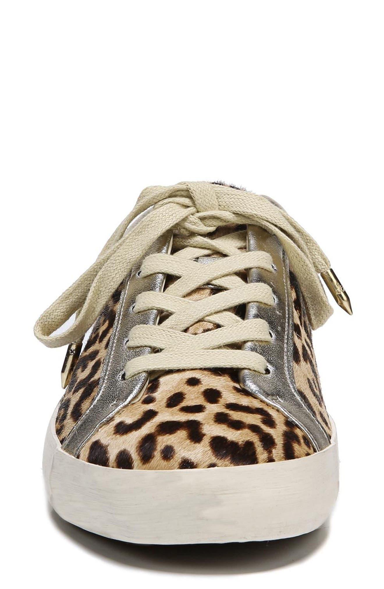 Britton 2 Sneaker,                             Alternate thumbnail 5, color,                             Leopard Brahma Hair
