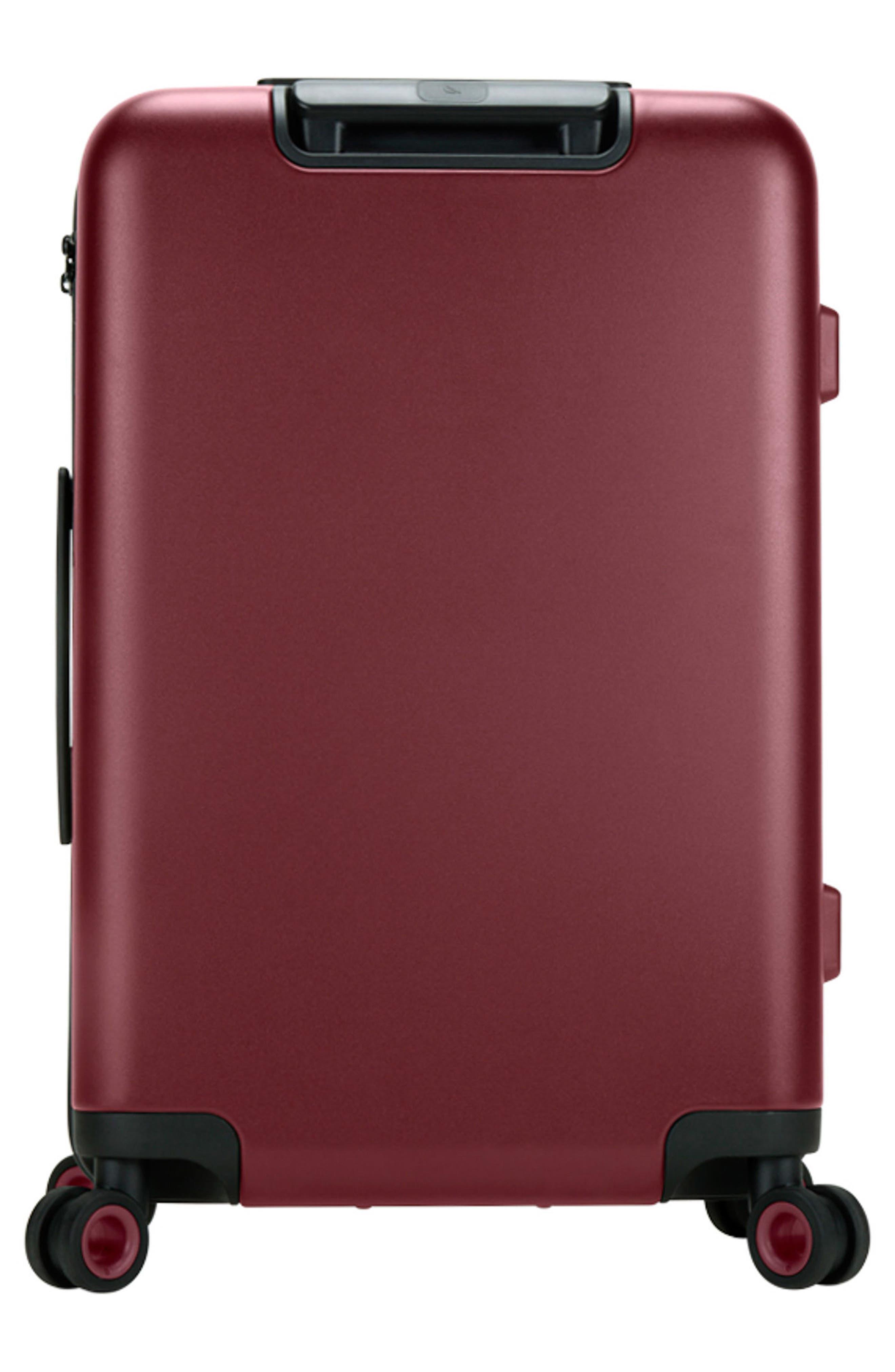 NOVI 31-Inch Hardshell Wheeled Packing Case,                             Alternate thumbnail 3, color,                             Deep Red