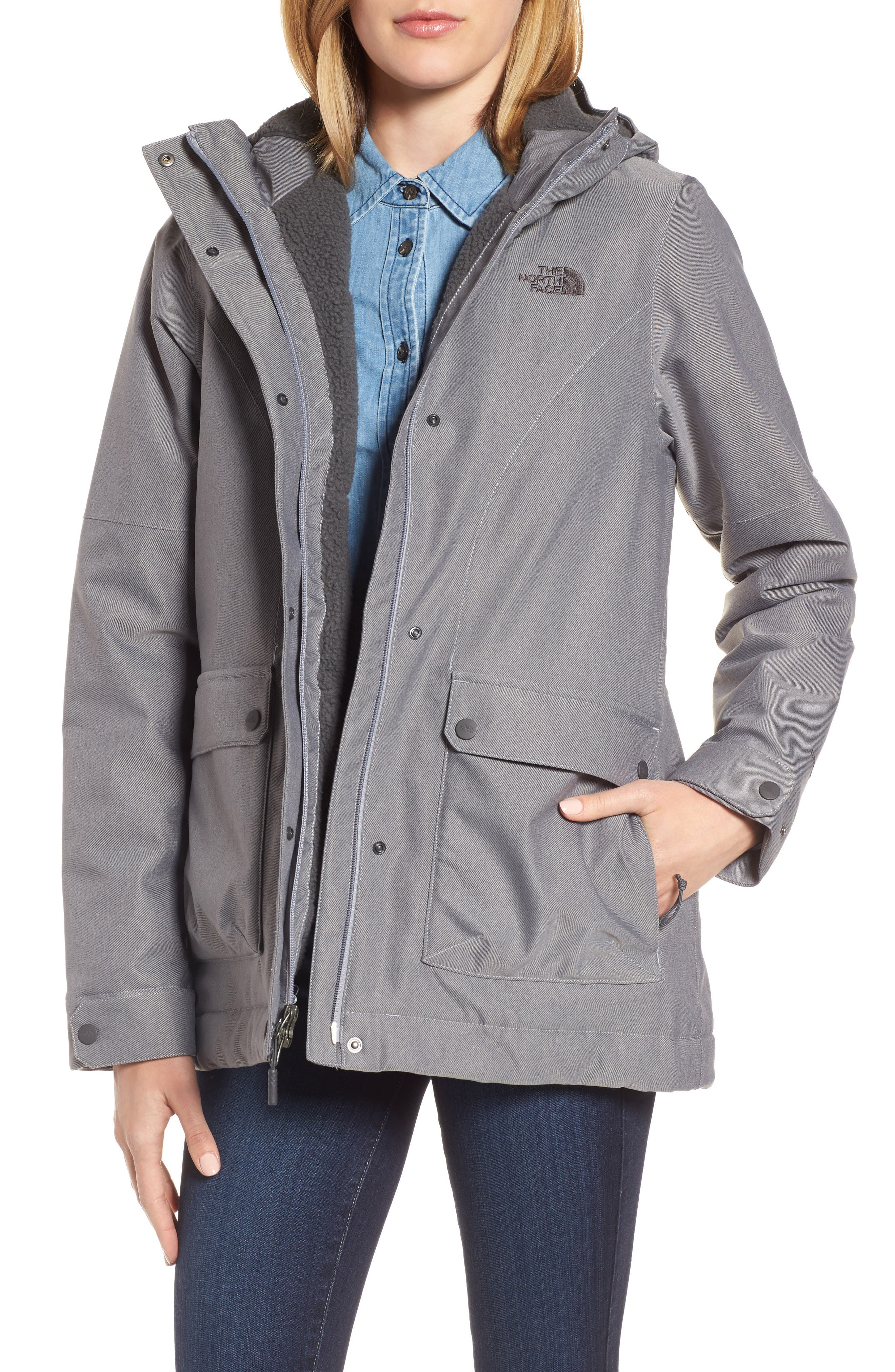 Alternate Image 1 Selected - The North Face Firesyde Field Jacket
