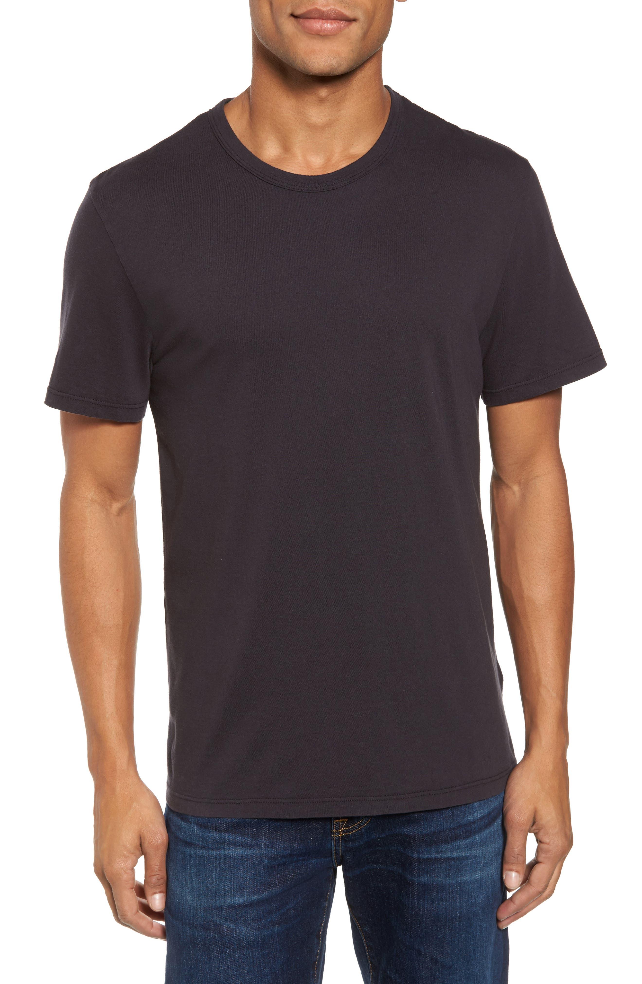 Suvin Crewneck T-Shirt,                         Main,                         color, Squid