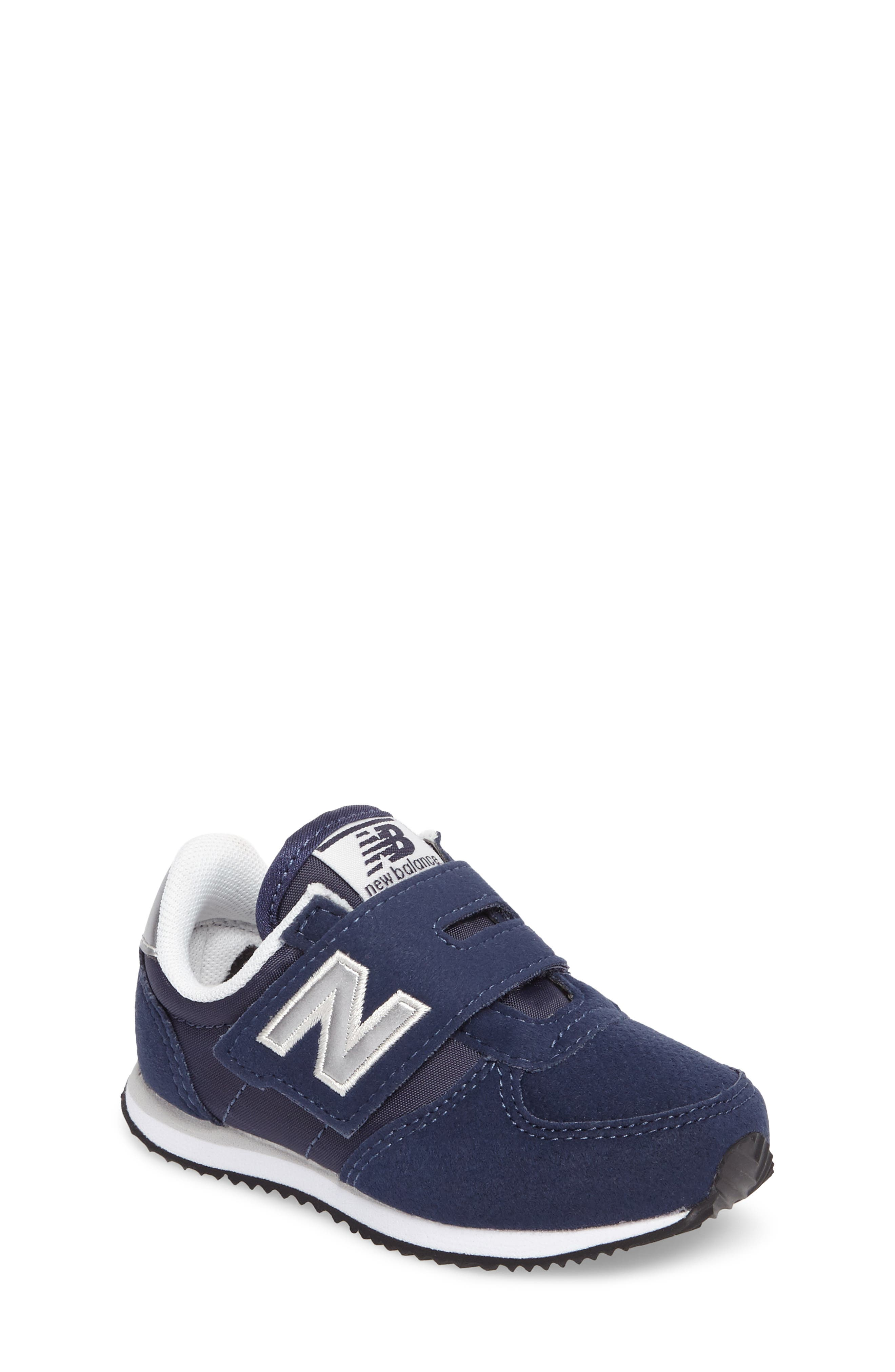 New Balance 220 Hook and Loop Sneaker (Baby, Walker, Toddler, Little Kid & Big Kid)