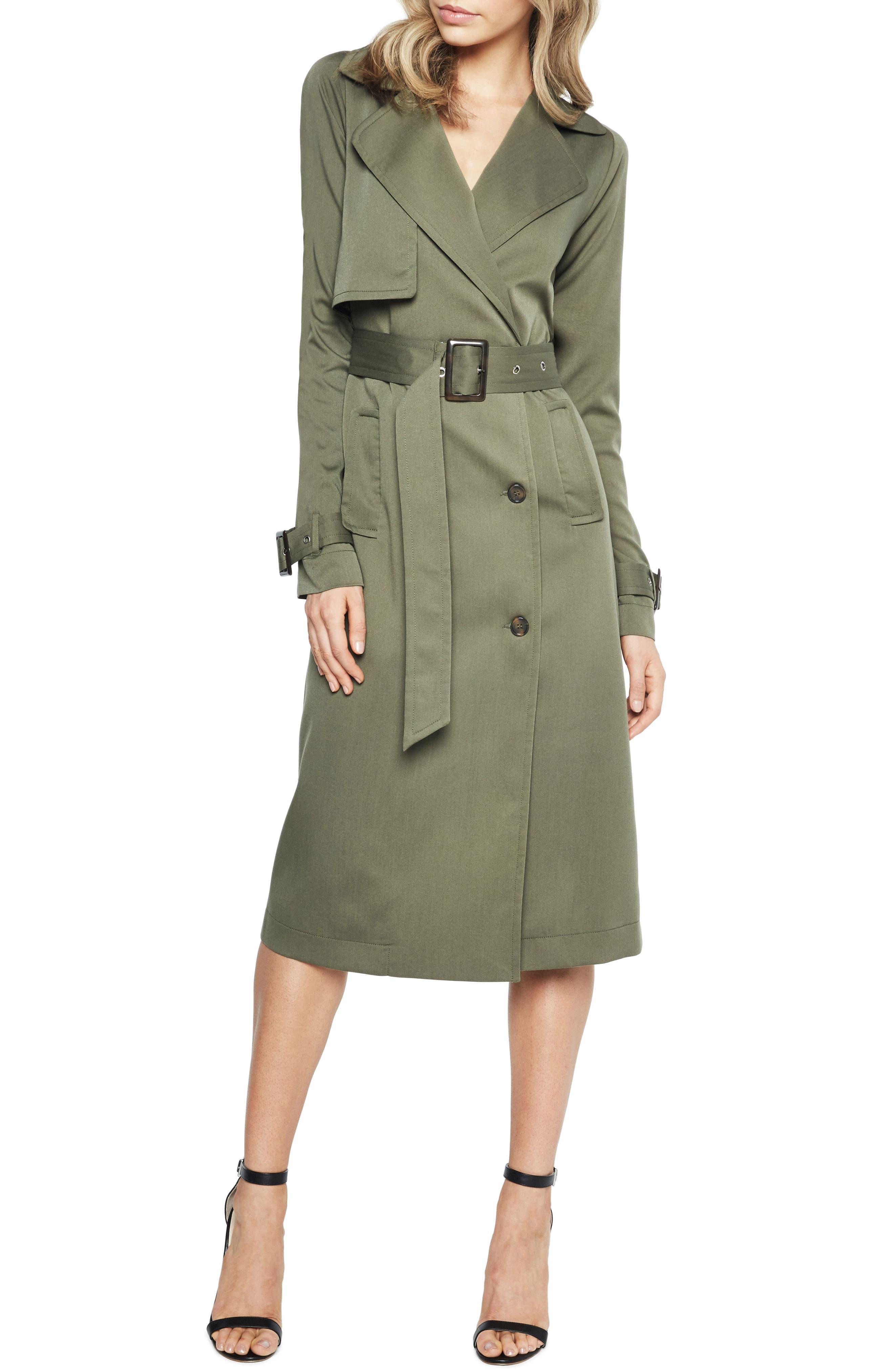 Main Image - Bardot Military Trench Dress