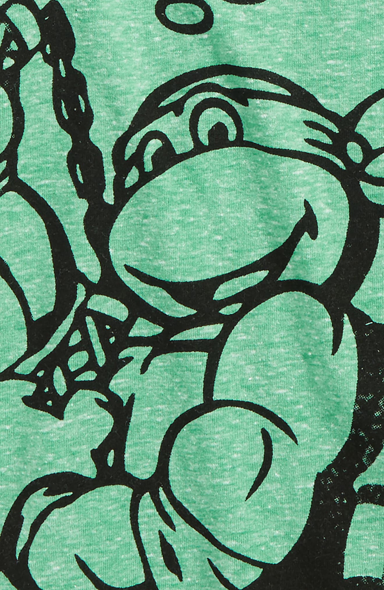 TMNT - Tough as a Turtle Graphic T-Shirt,                             Alternate thumbnail 2, color,                             Green