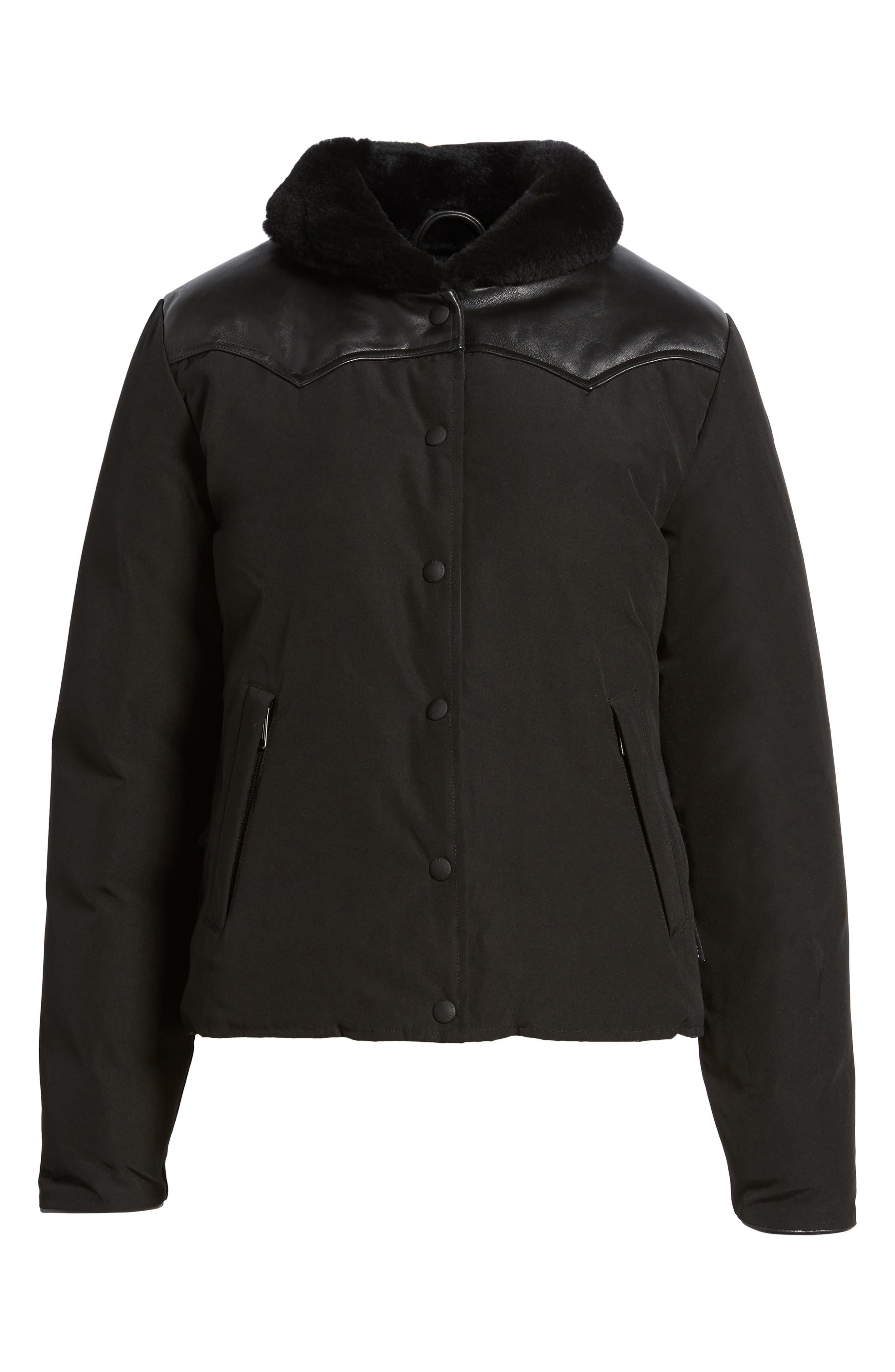 Alternate Image 6  - Penfield Rockwool Down Jacket with Genuine Coyote Fur Trim