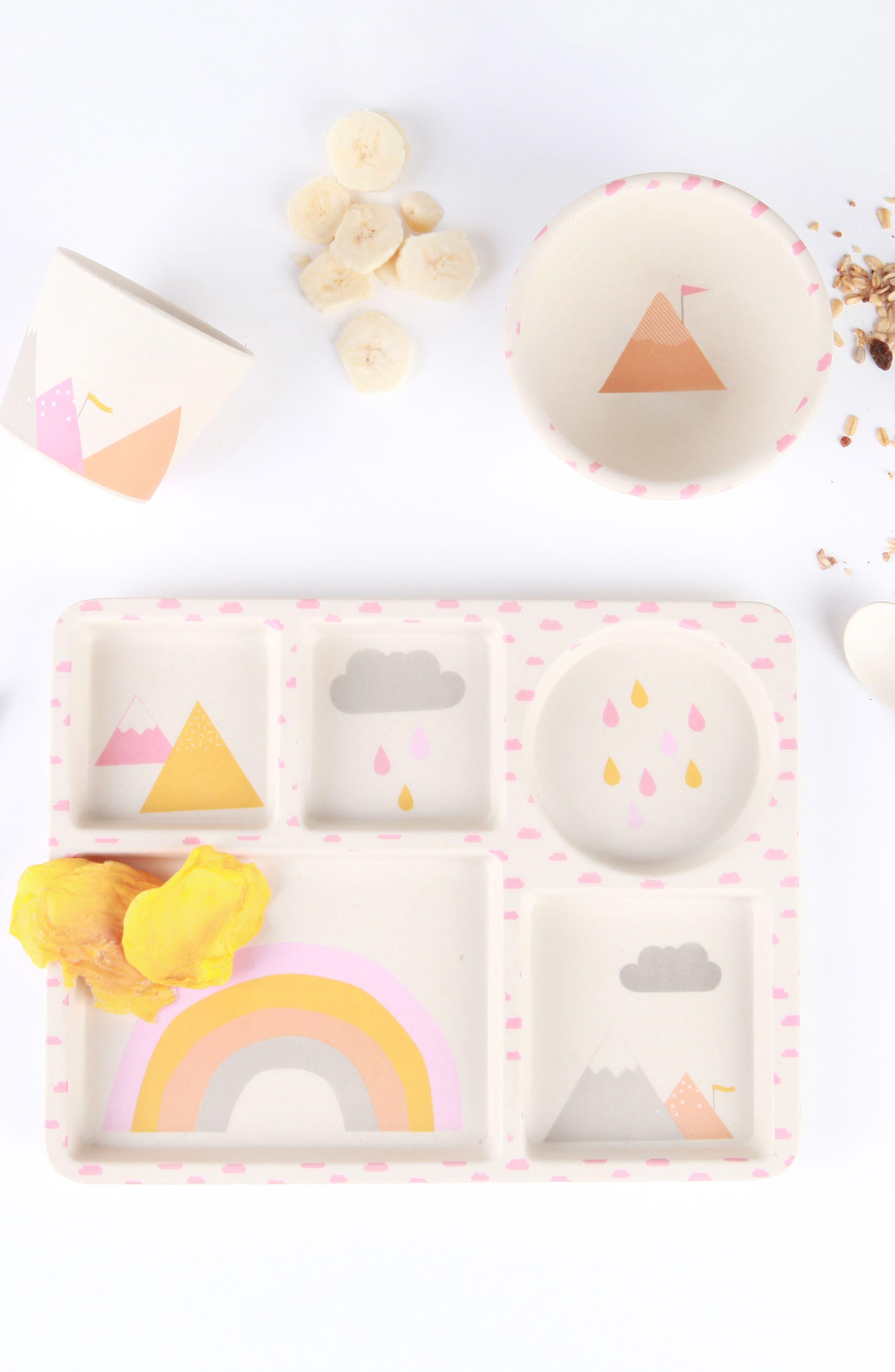 Alternate Image 2  - Love Mae 5-Piece Dinnerware Set