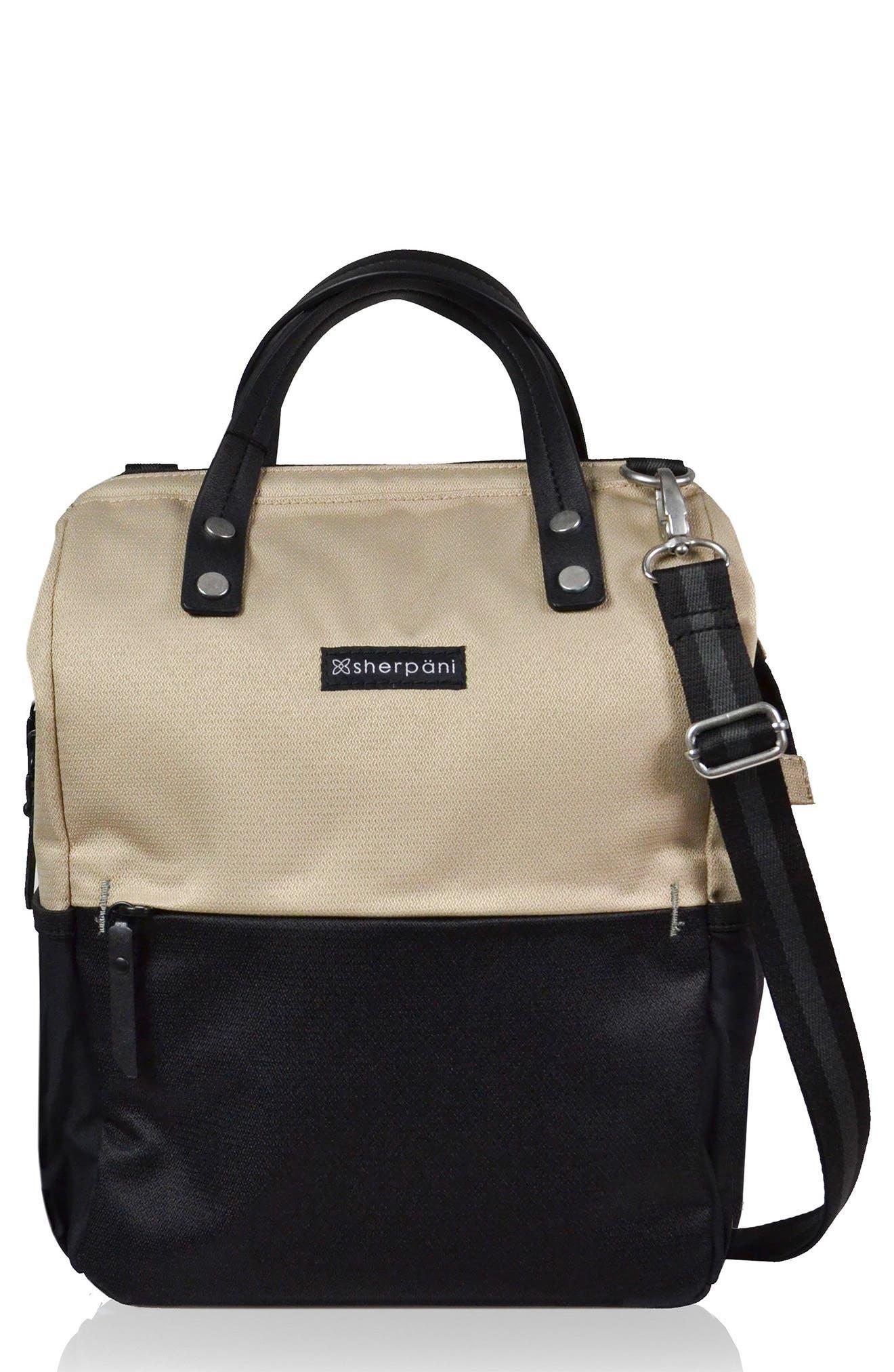 Sherpani Dispatch Water Resistant RFID Pocket Convertible Backpack