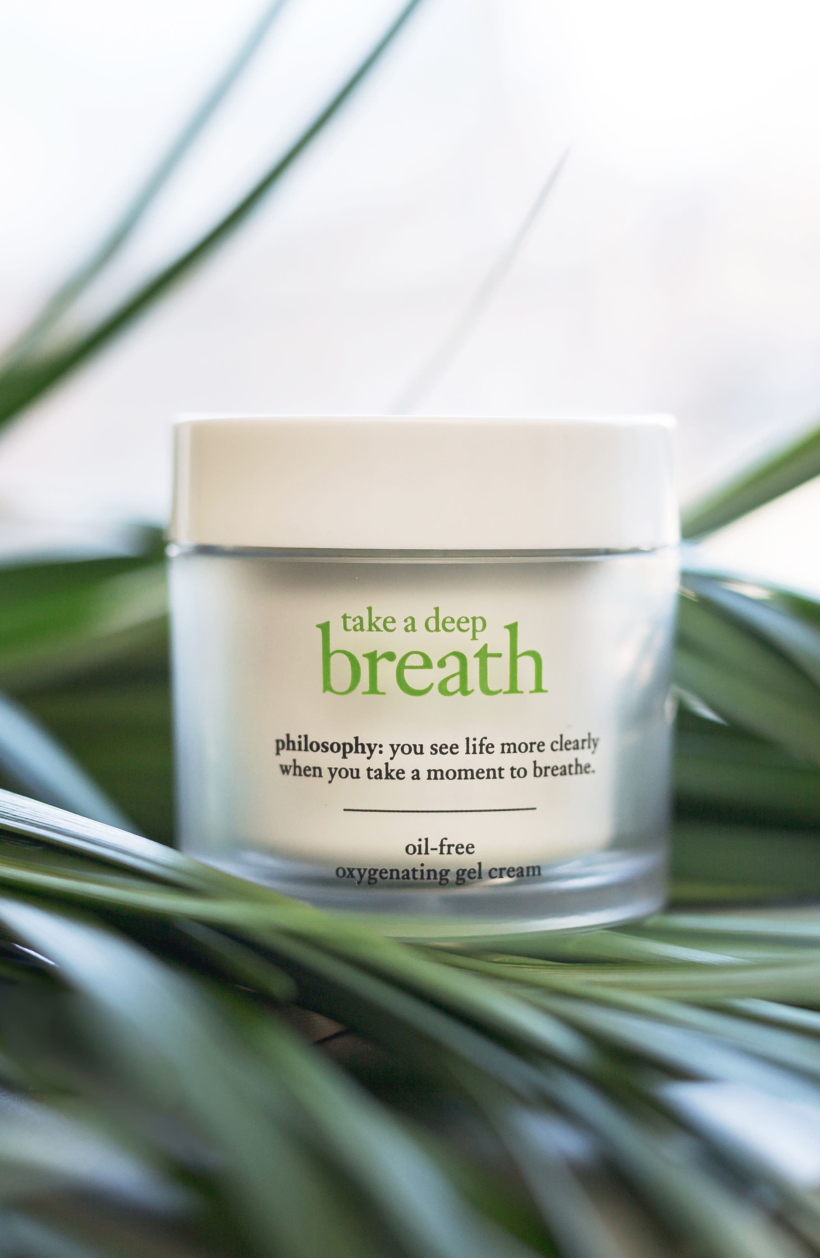 take a deep breath oil-free oxygenating gel cream,                             Alternate thumbnail 3, color,                             No Color