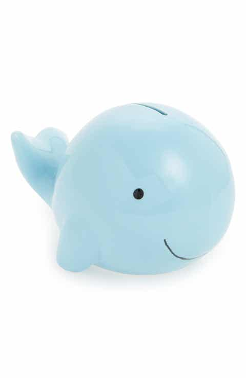 Personalized baby gifts nordstrom child to cherish medium whale bank negle Gallery