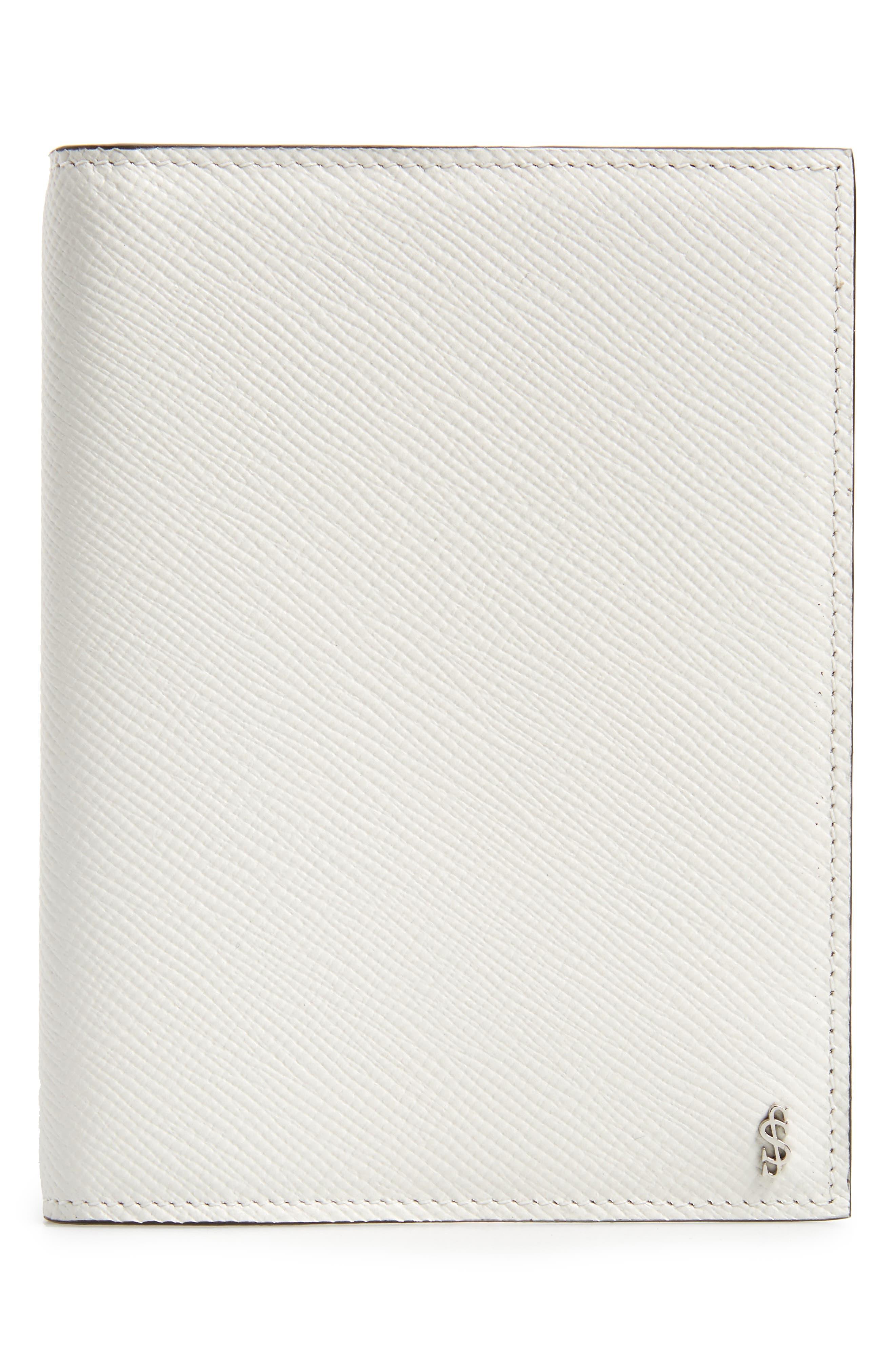 Main Image - Serapian Milano Evolution Leather Passport Case