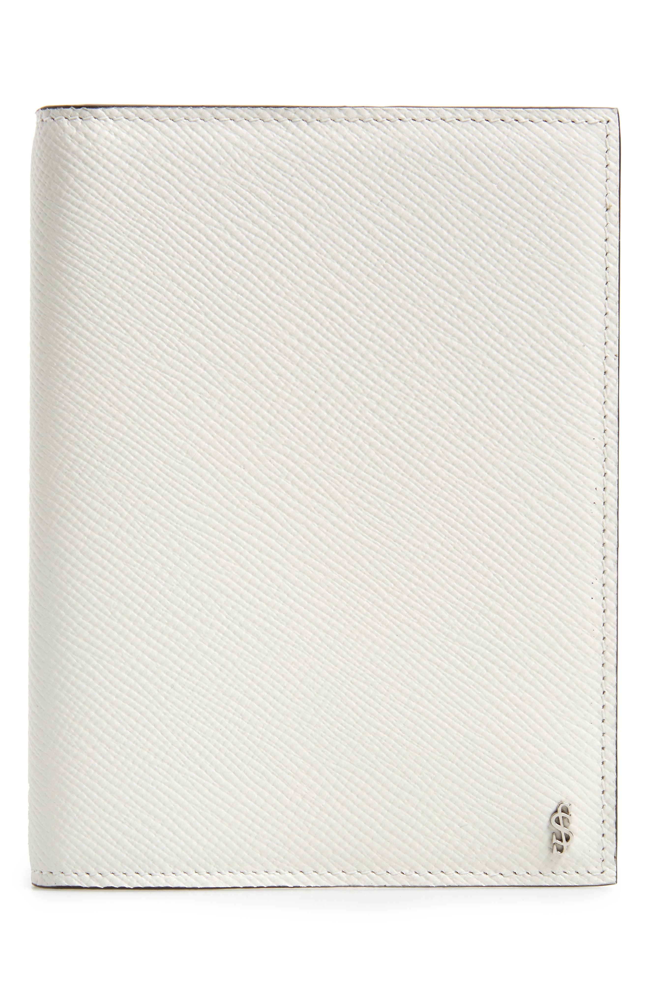 Serapian Milano Evolution Leather Passport Case