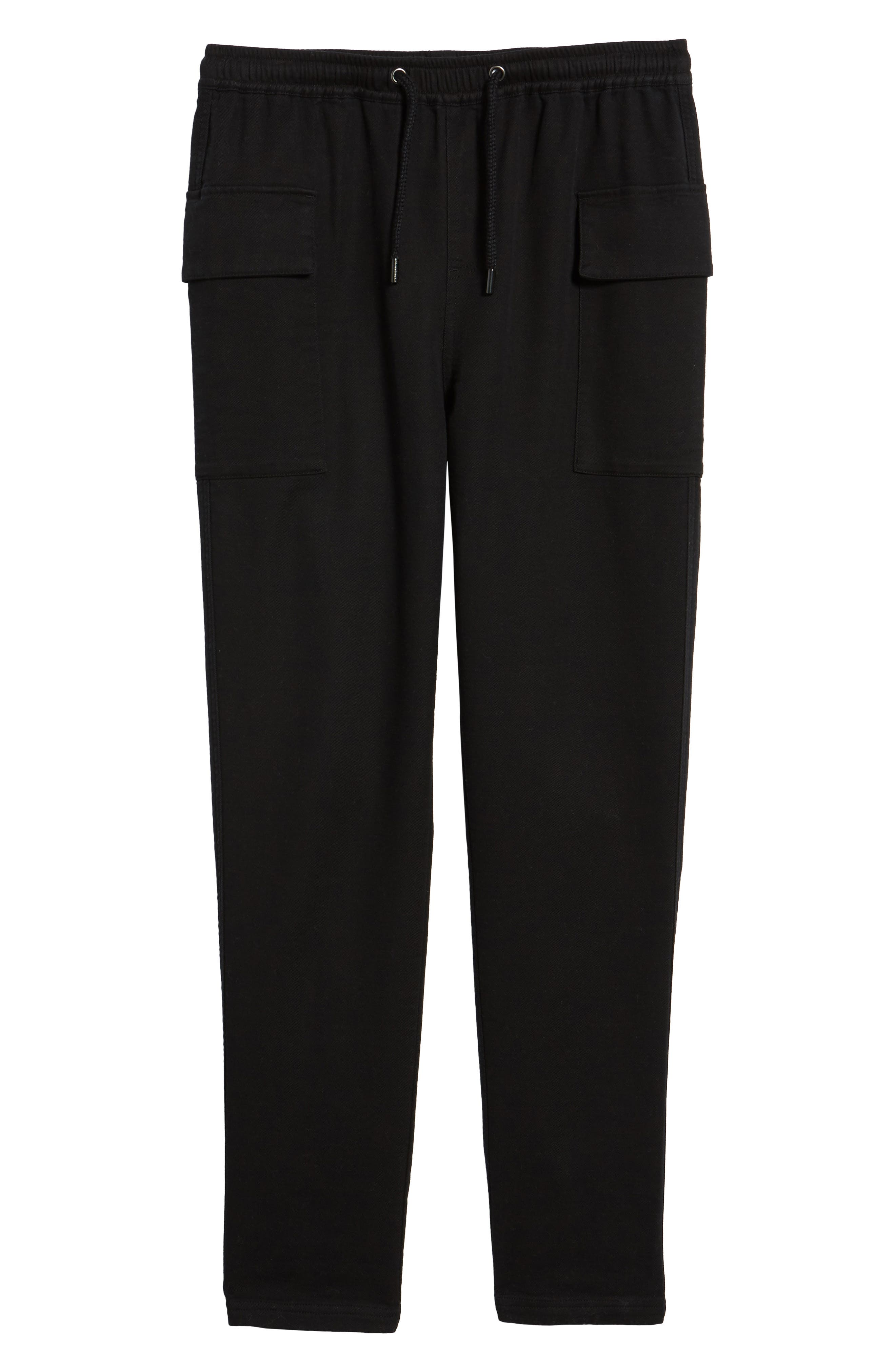 Shay Cargo Pants,                             Alternate thumbnail 6, color,                             Black