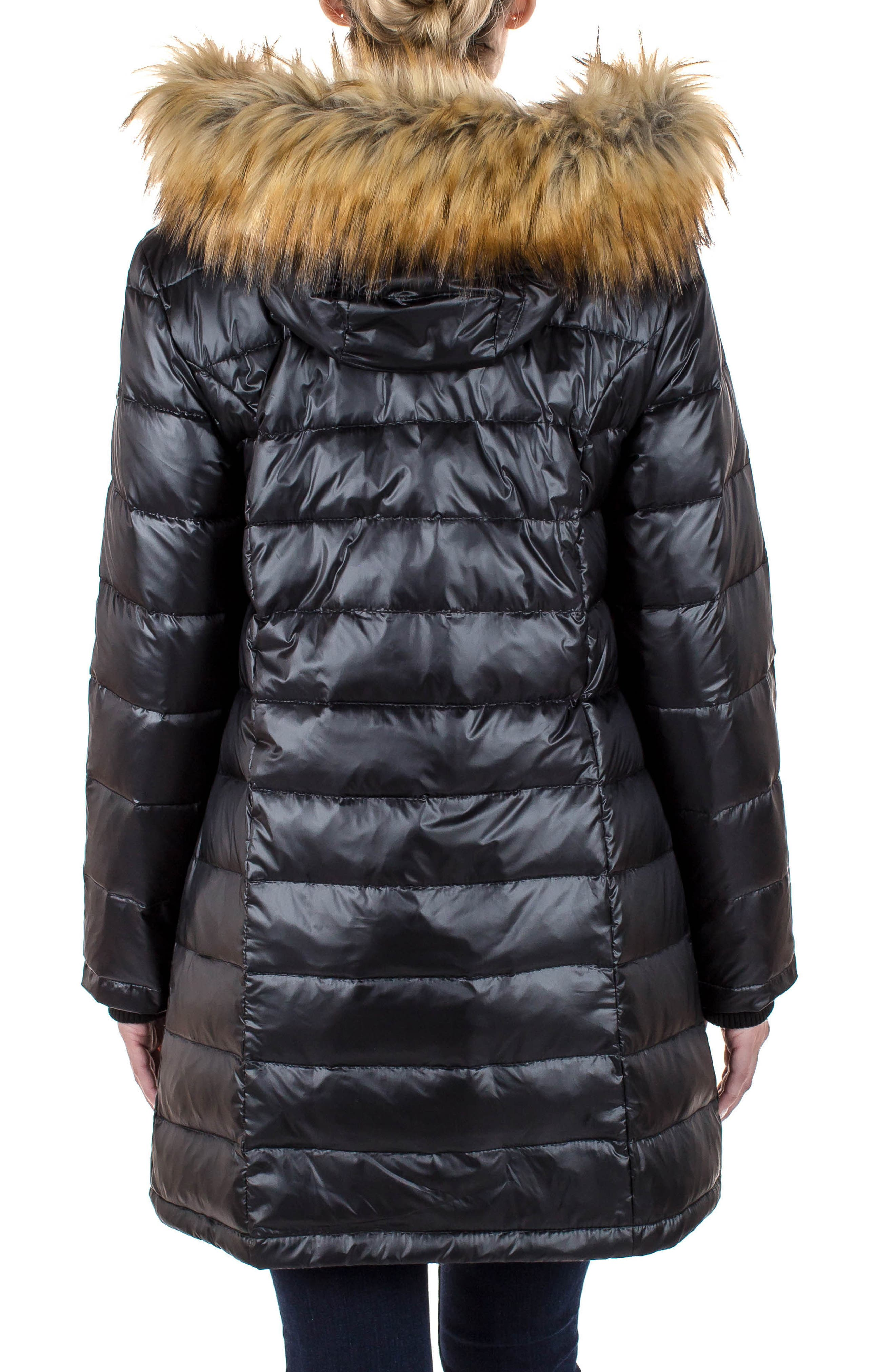 Alternate Image 2  - Modern Eternity Quilted Maternity Parka