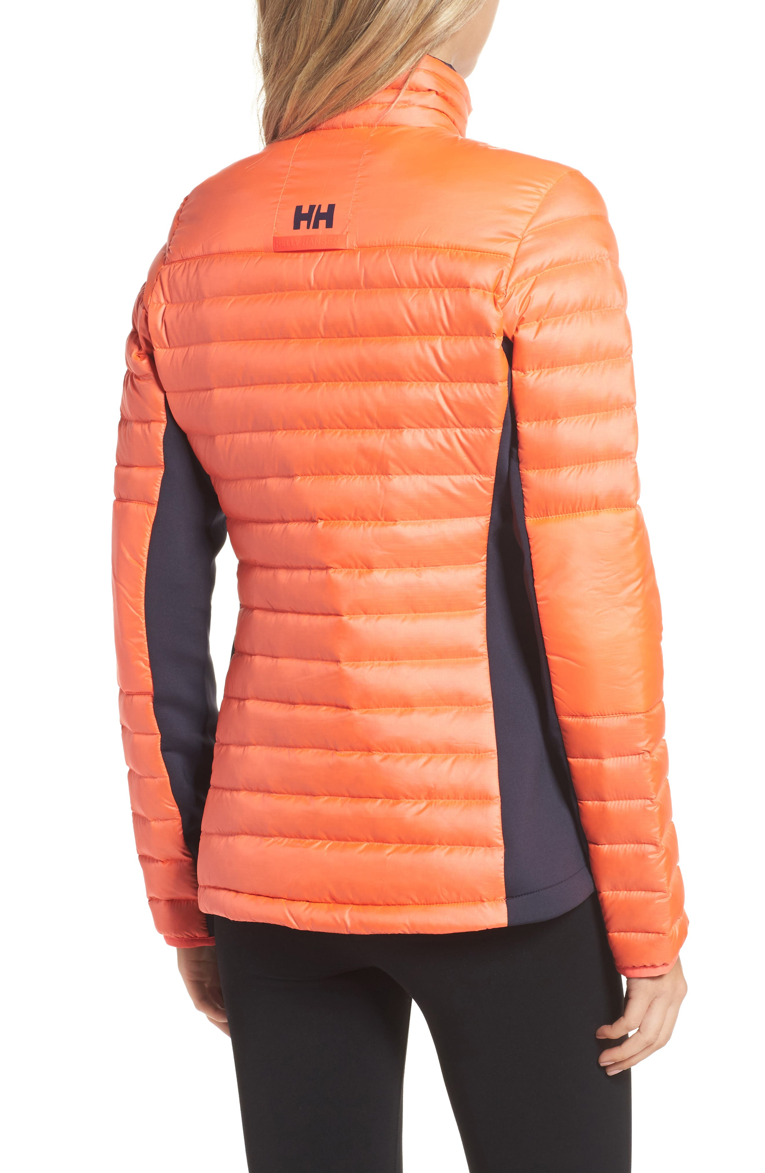 Verglas Hybrid Down Insulator Jacket,                             Alternate thumbnail 2, color,                             Neon Coral