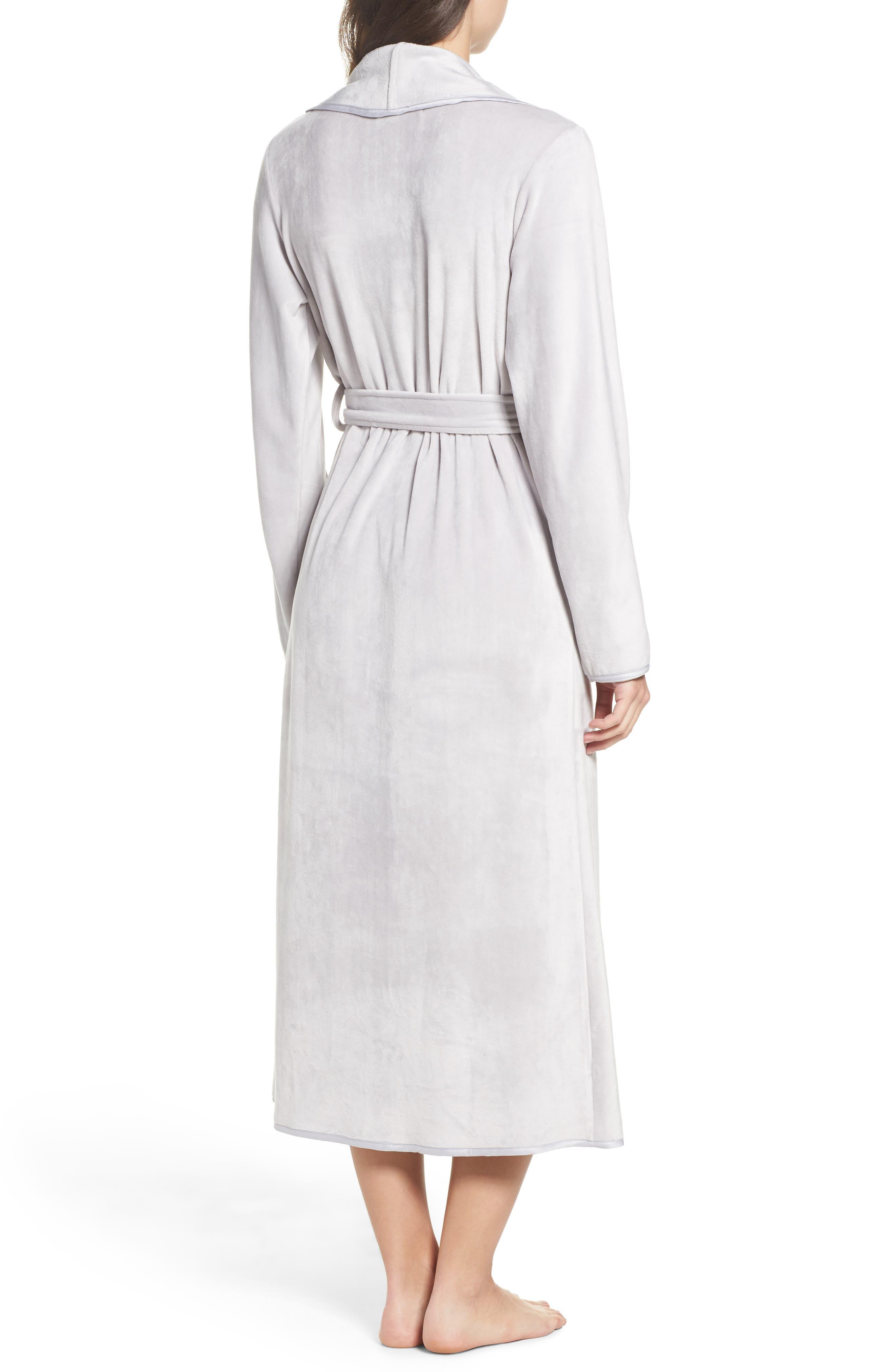 Alternate Image 2  - Nordstrom Lingerie Luxe Shawl Robe