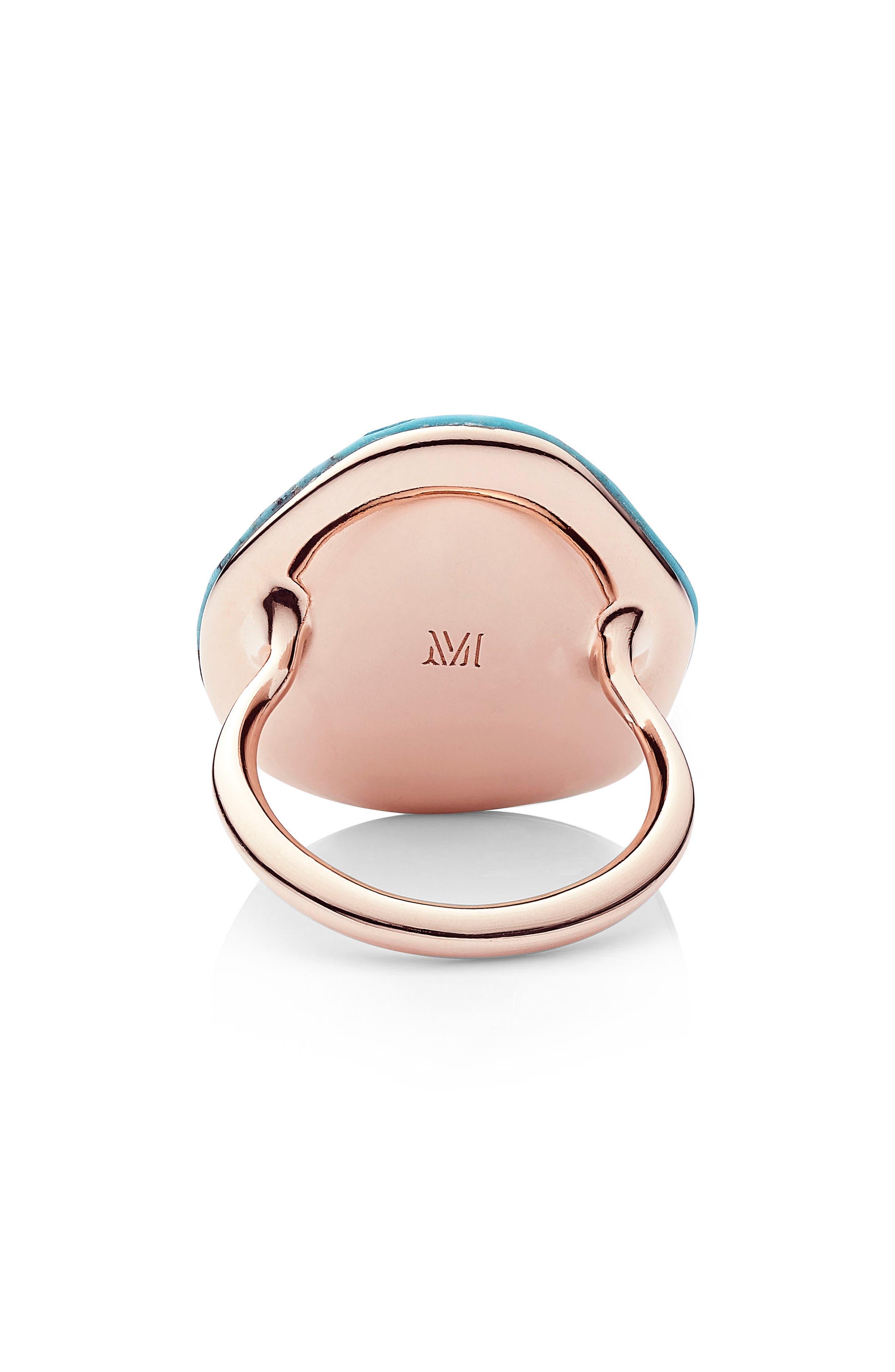 Alternate Image 3  - Monica Vinader Nura Large Pebble Ring