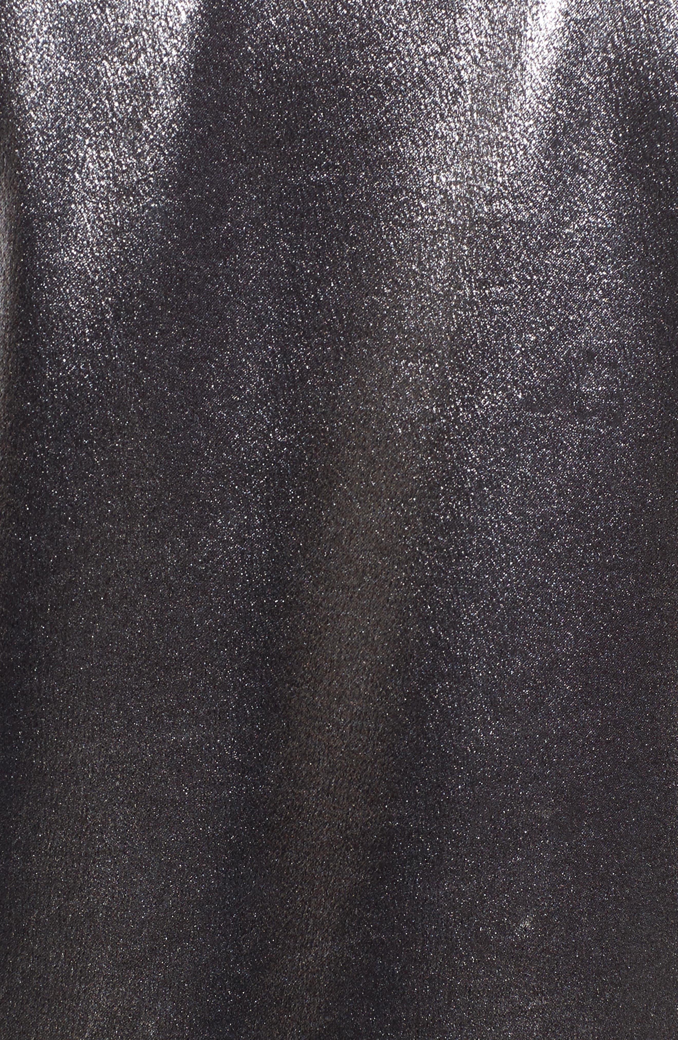 Alternate Image 5  - Topshop Metallic Suit Jacket