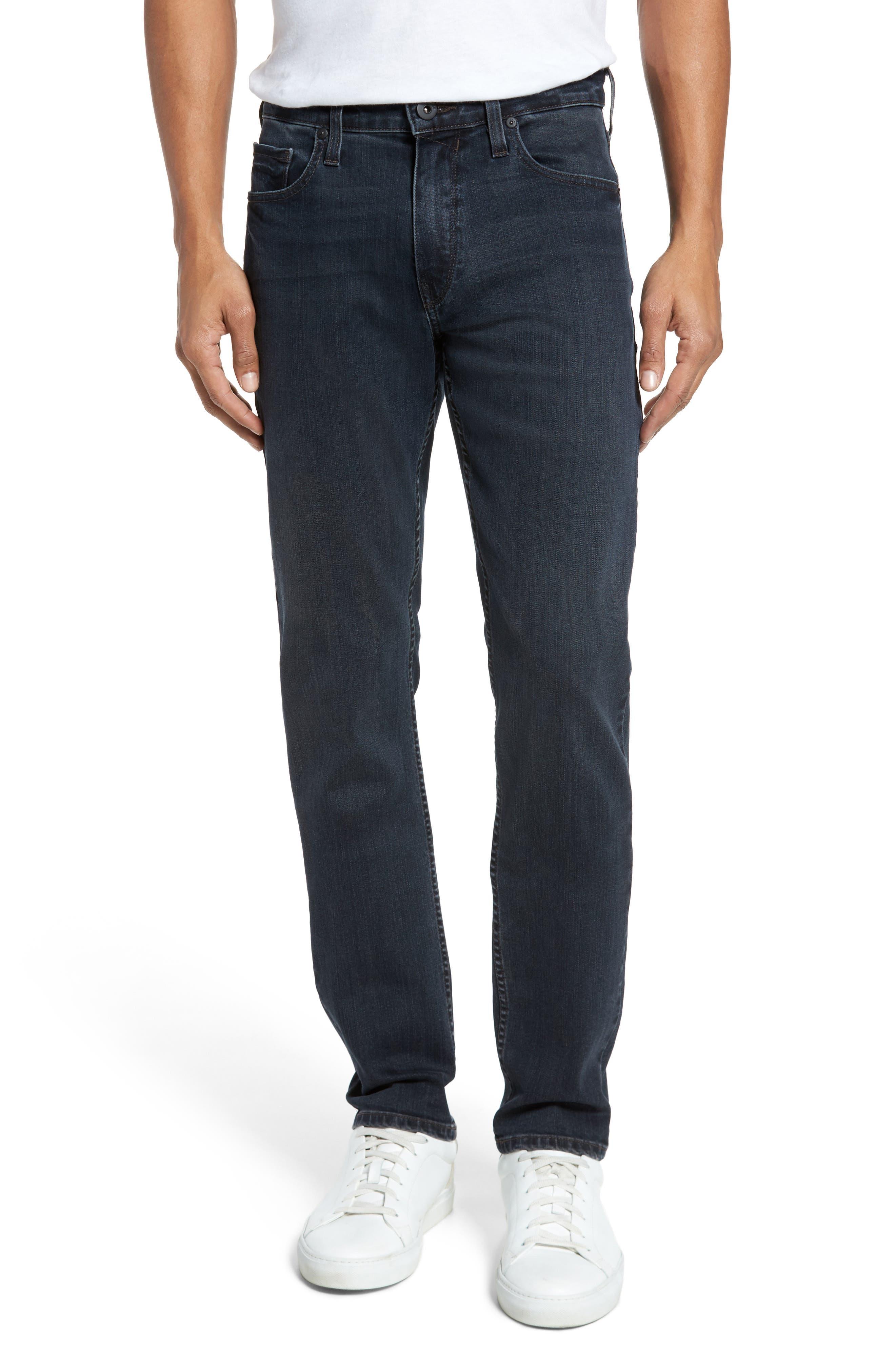 Lennox Slim Fit Jeans,                             Main thumbnail 1, color,                             Triton