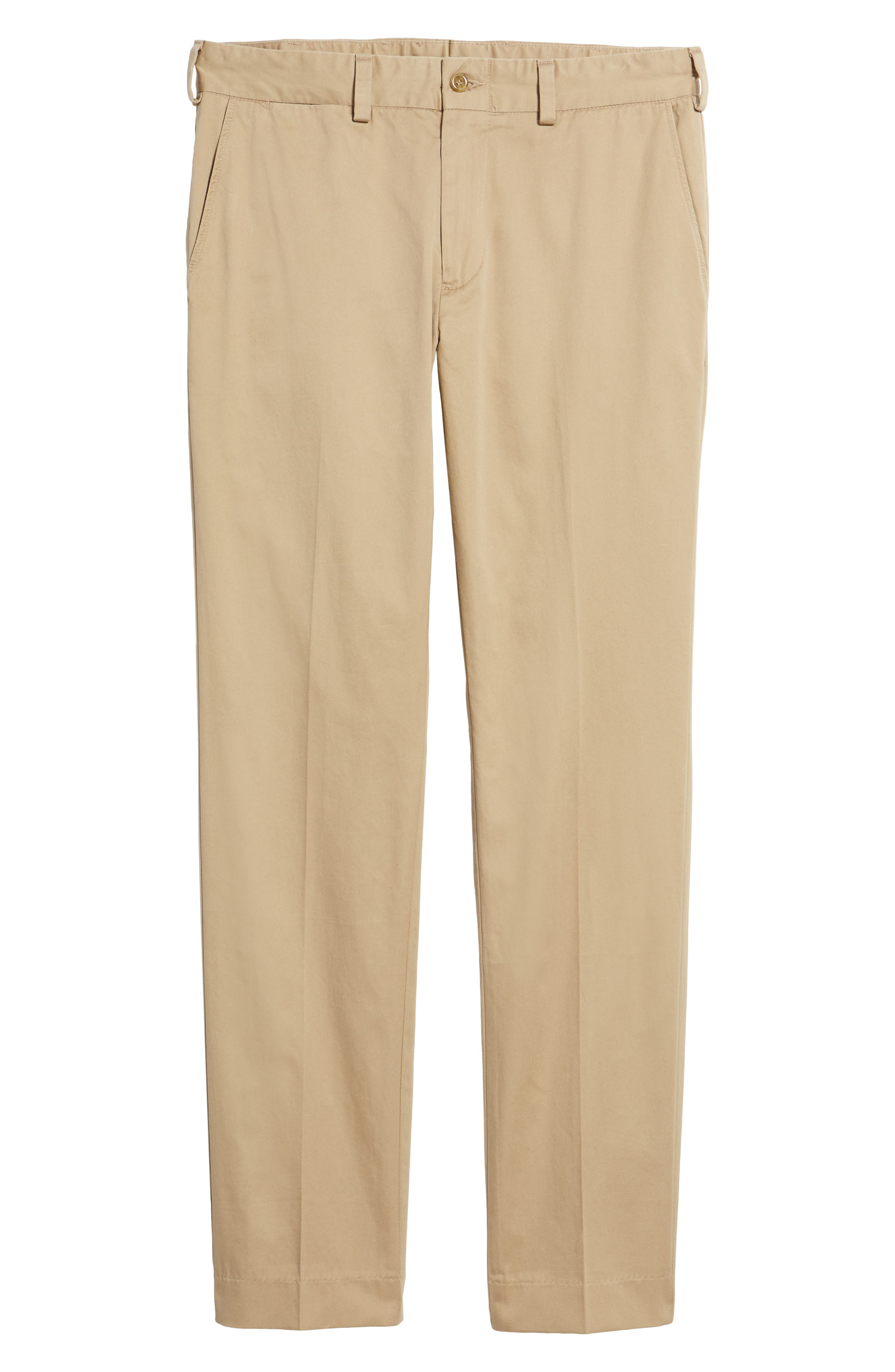 Slim Fit Chamois Cloth Pants,                             Alternate thumbnail 6, color,                             Camel