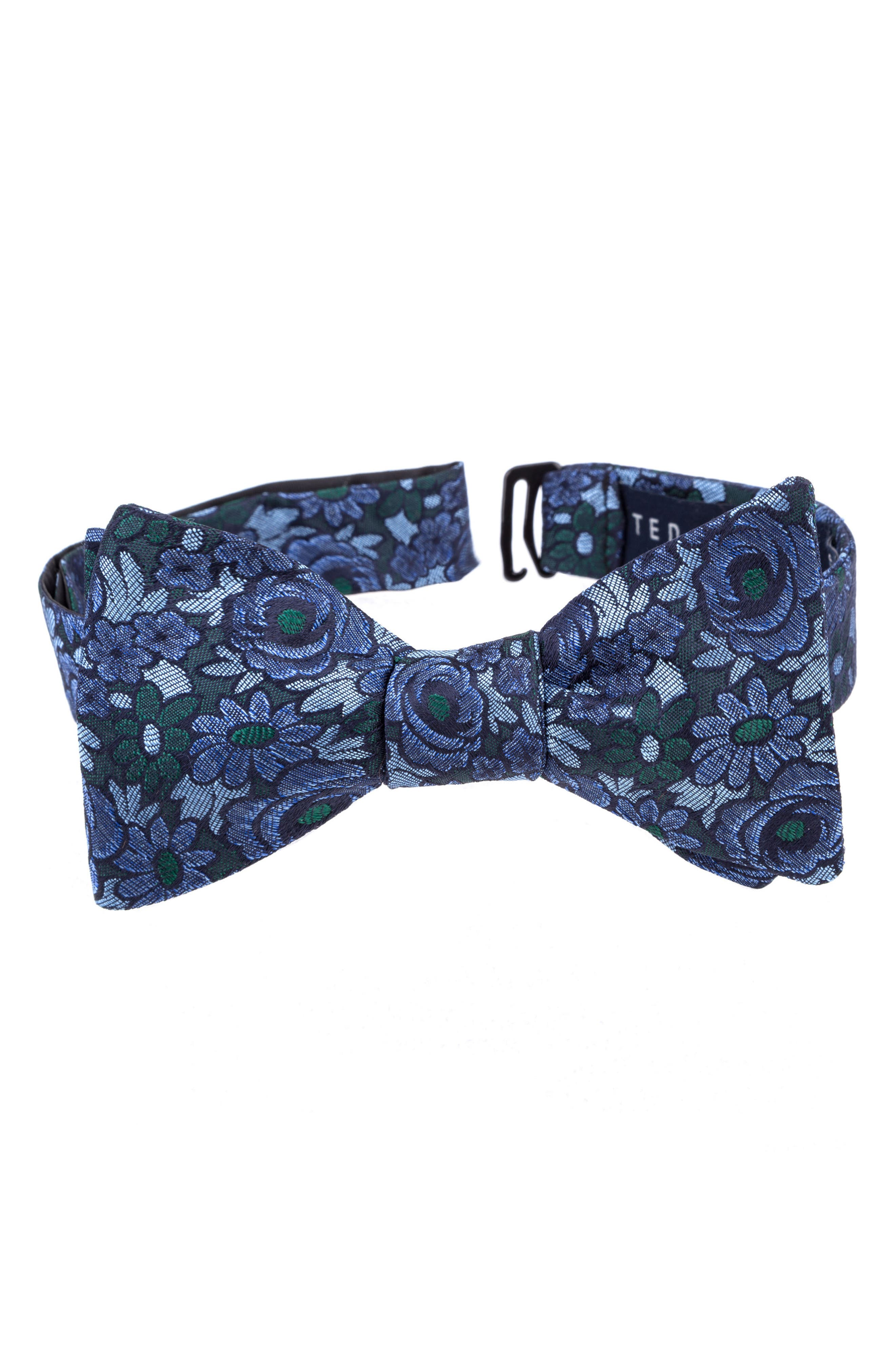 Alternate Image 1 Selected - Ted Baker London Botanical Silk Bow Tie