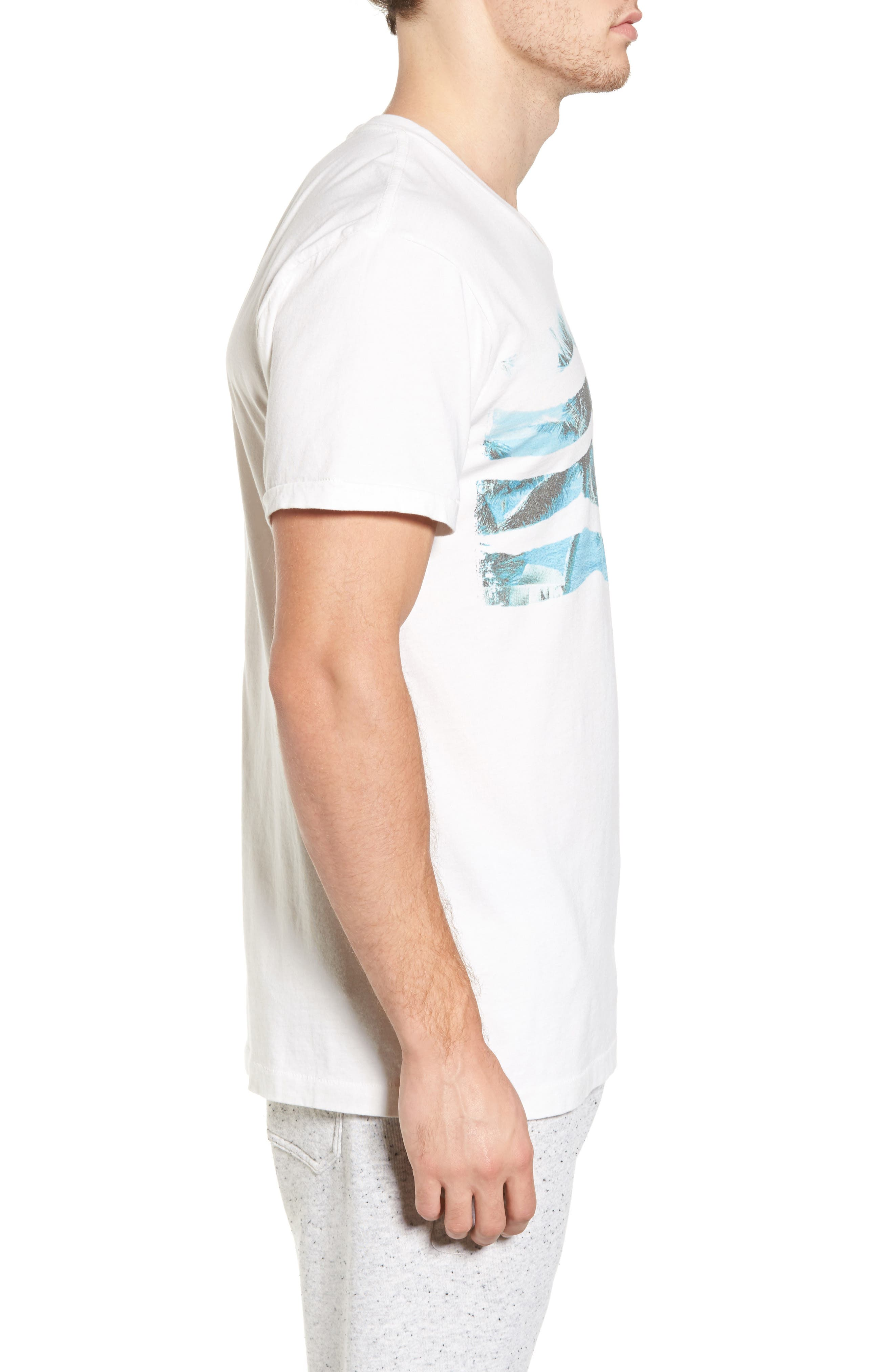 Vista Del Mar T-Shirt,                             Alternate thumbnail 3, color,                             D White
