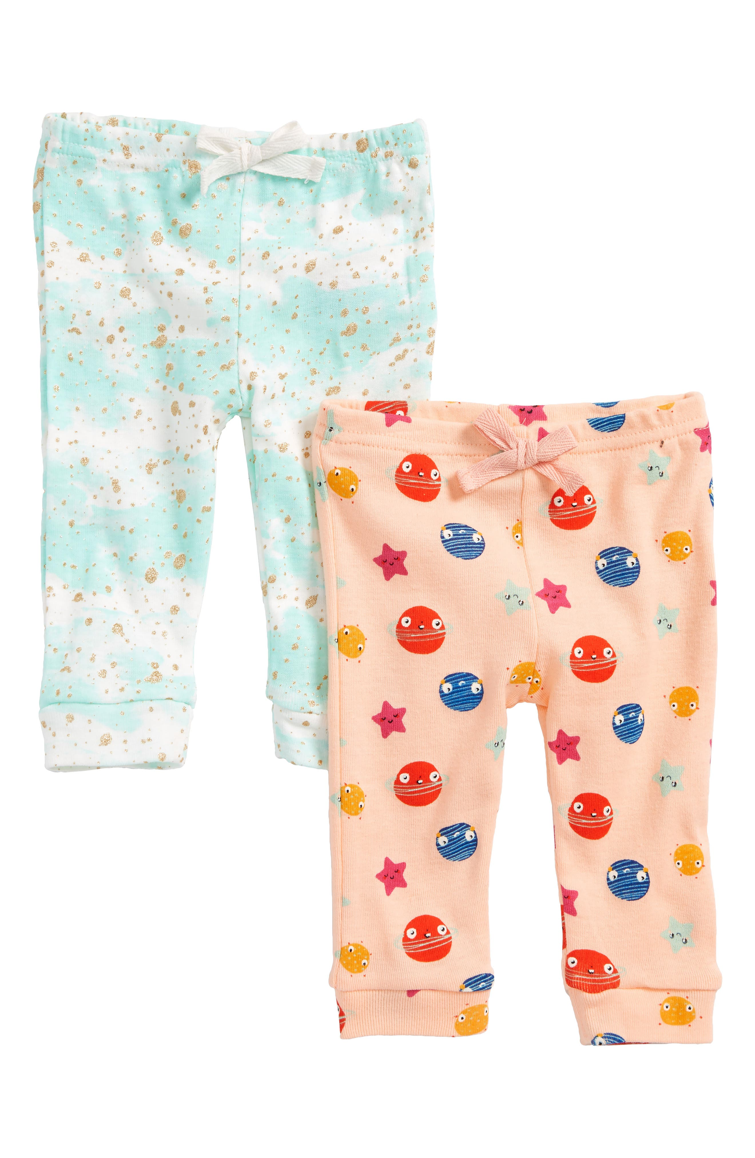 Rosie Pope 2-Pack Print Cotton Pants (Baby Girls)