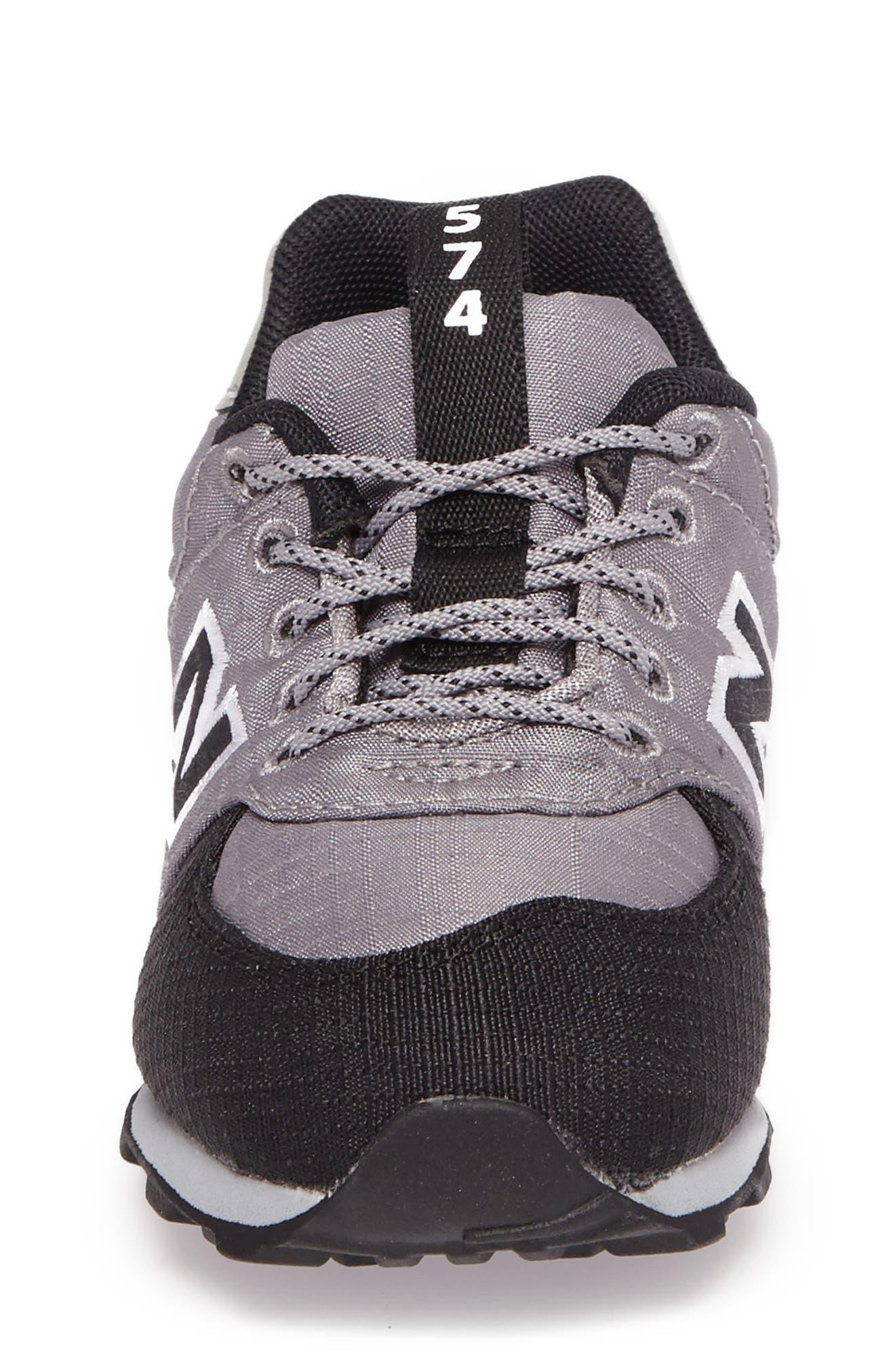 574 Sneaker,                             Alternate thumbnail 4, color,                             Grey
