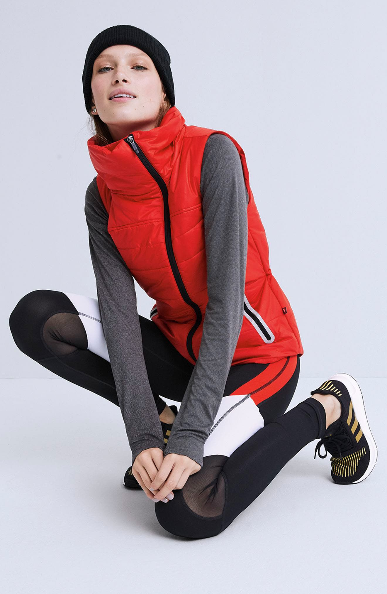 Alternate Image 7  - Zella Dynamic PrimaLoft® Vest