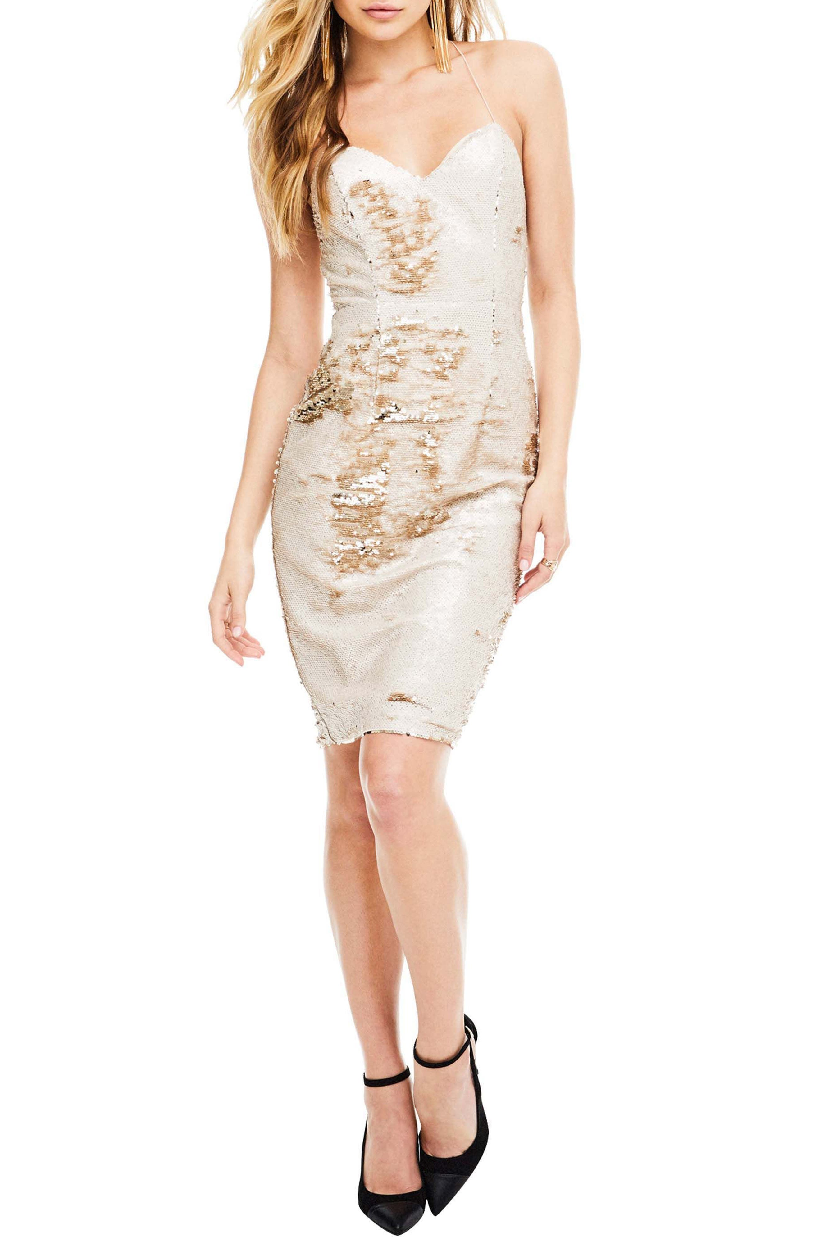 ASTR the Label Francesca Sequin Dress