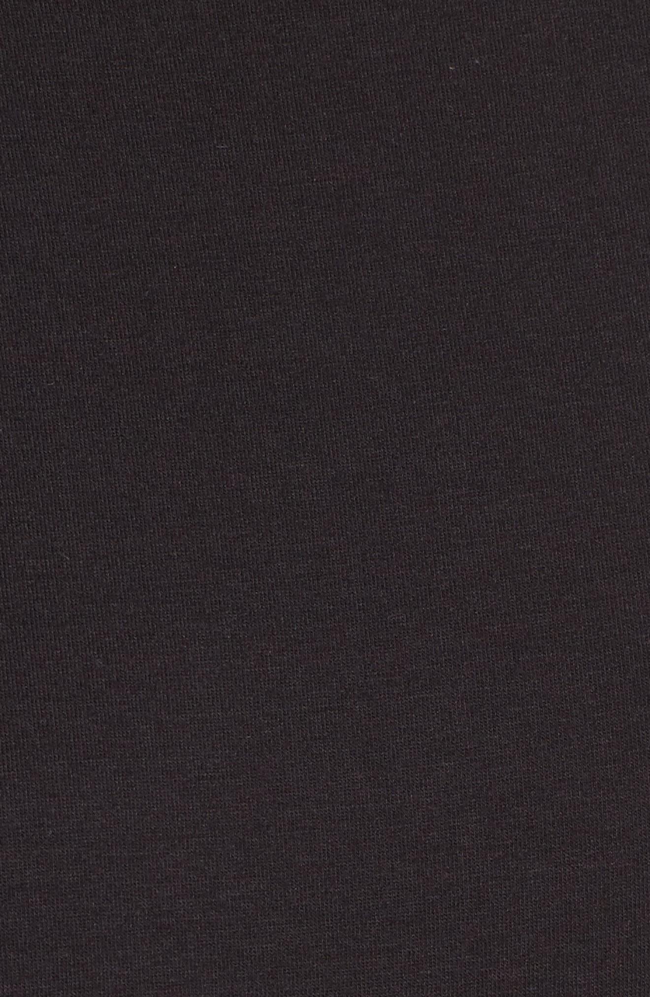Colombe Knit Sheath Dress,                             Alternate thumbnail 5, color,                             Black