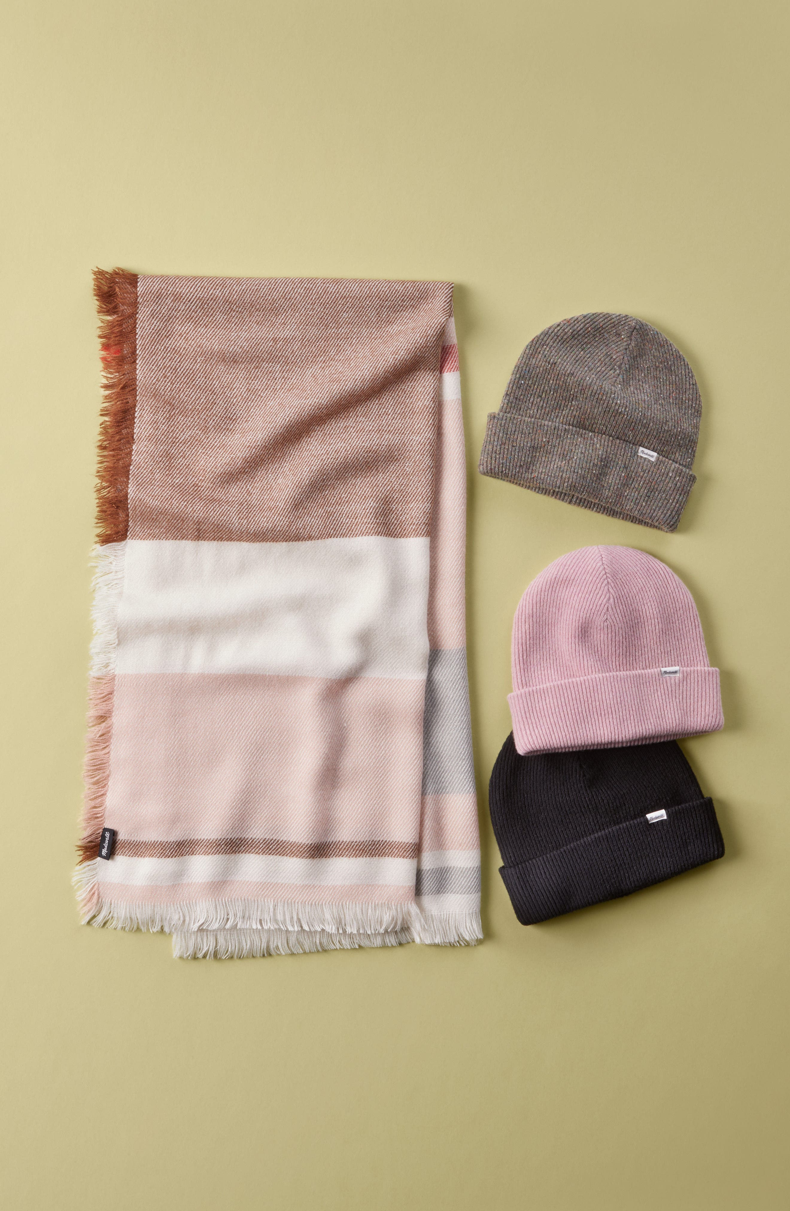 Alternate Image 5  - Madewell Colorblock Blanket Scarf