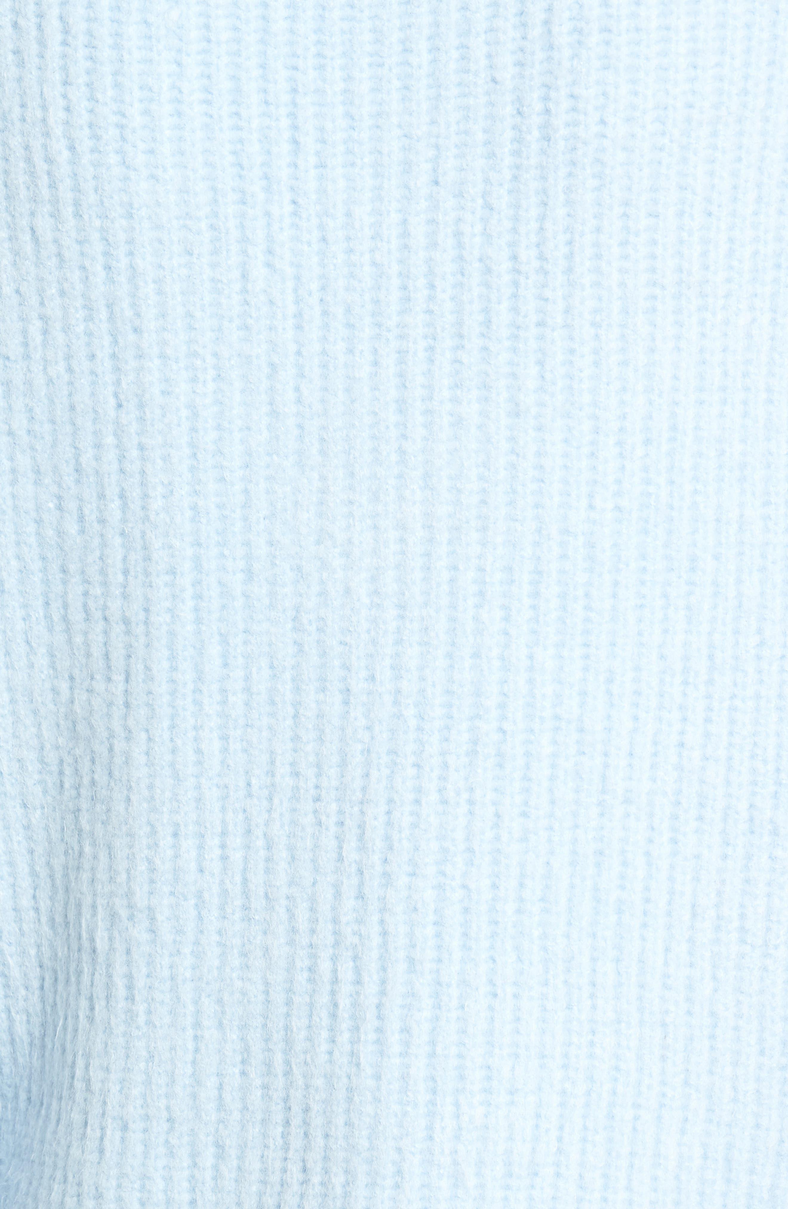 Alternate Image 6  - LOST INK Oversize V-Neck Sweater