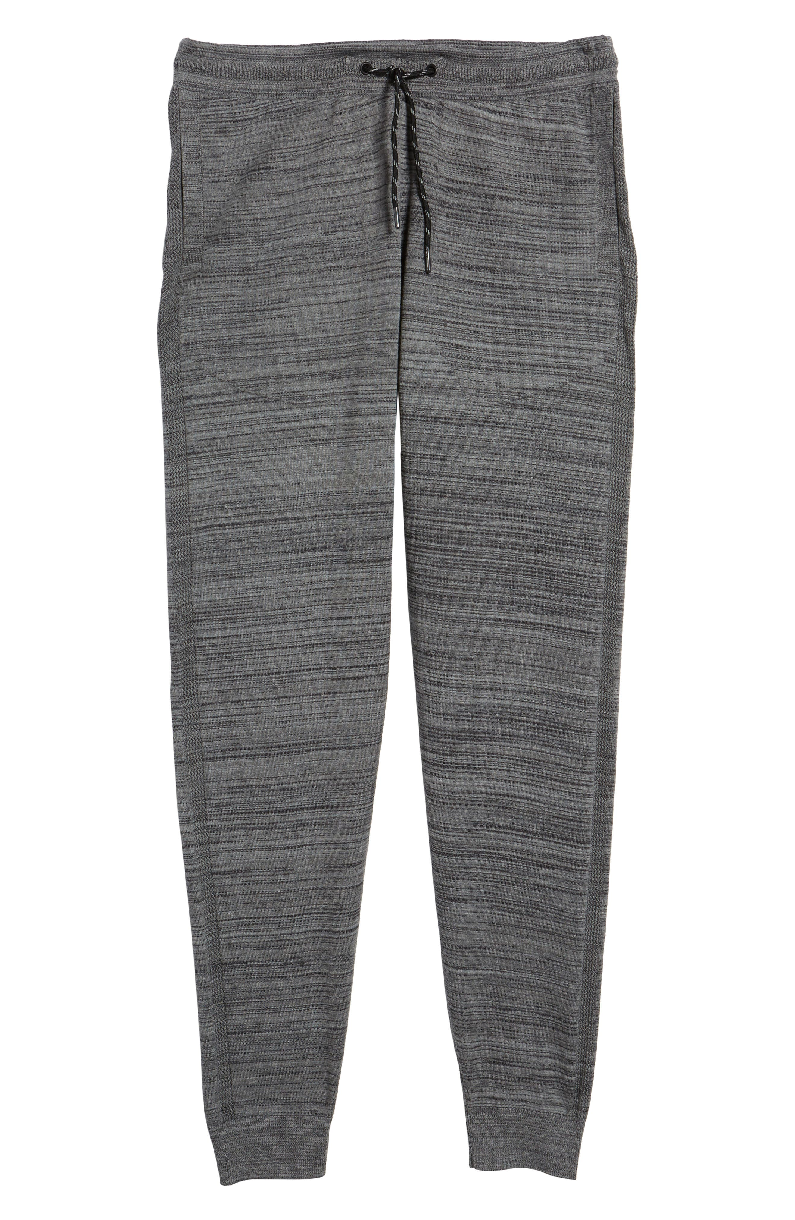 Tech Sweater Knit Jogger Pants,                             Alternate thumbnail 6, color,                             Grey Obsidian Spacedye