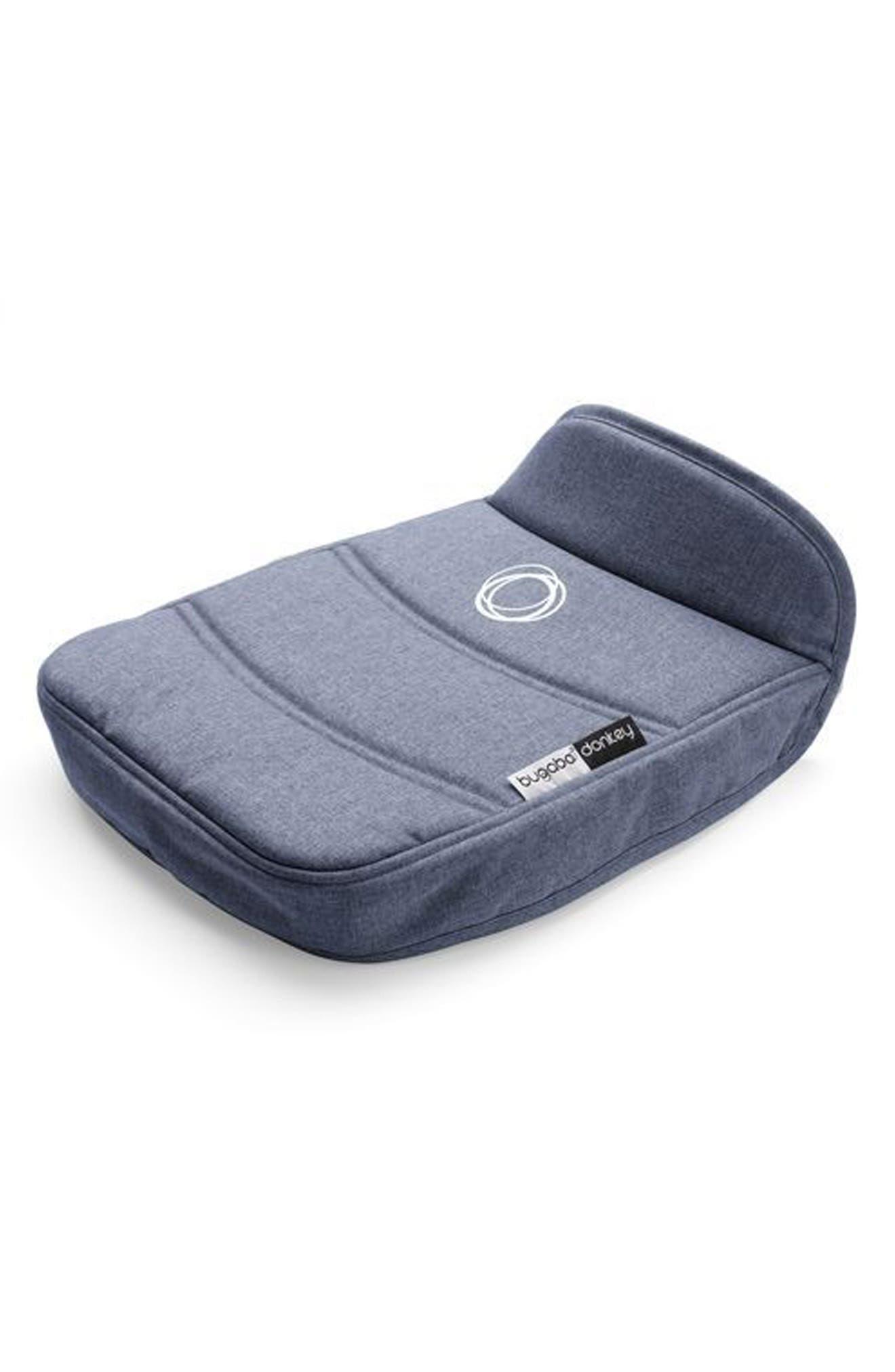 Bassinet Tailored Fabric Set for Donkey2 Stroller,                             Alternate thumbnail 4, color,                             Blue Melange