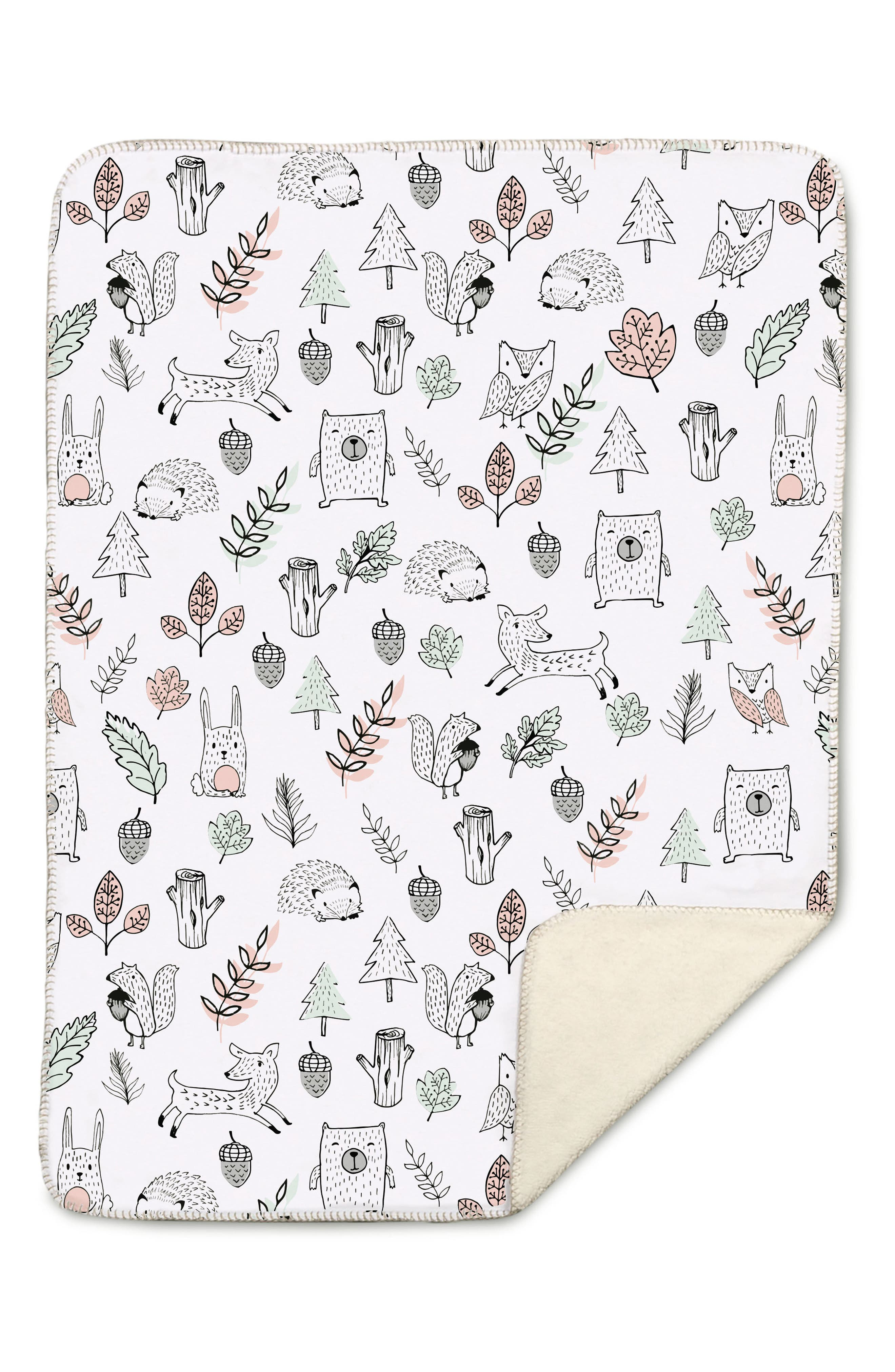 Main Image - Living Textiles Kayden Woodlands Blanket