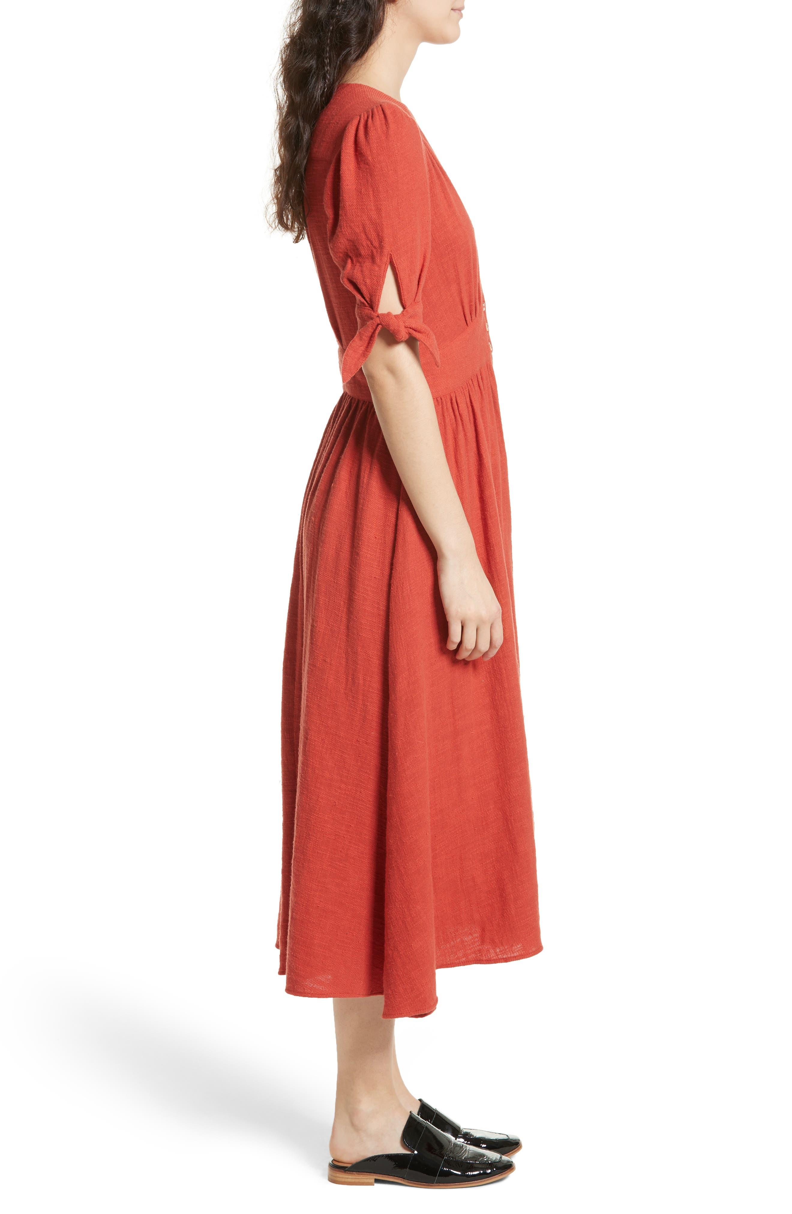 Alternate Image 3  - Free People Love of My Life Midi Dress